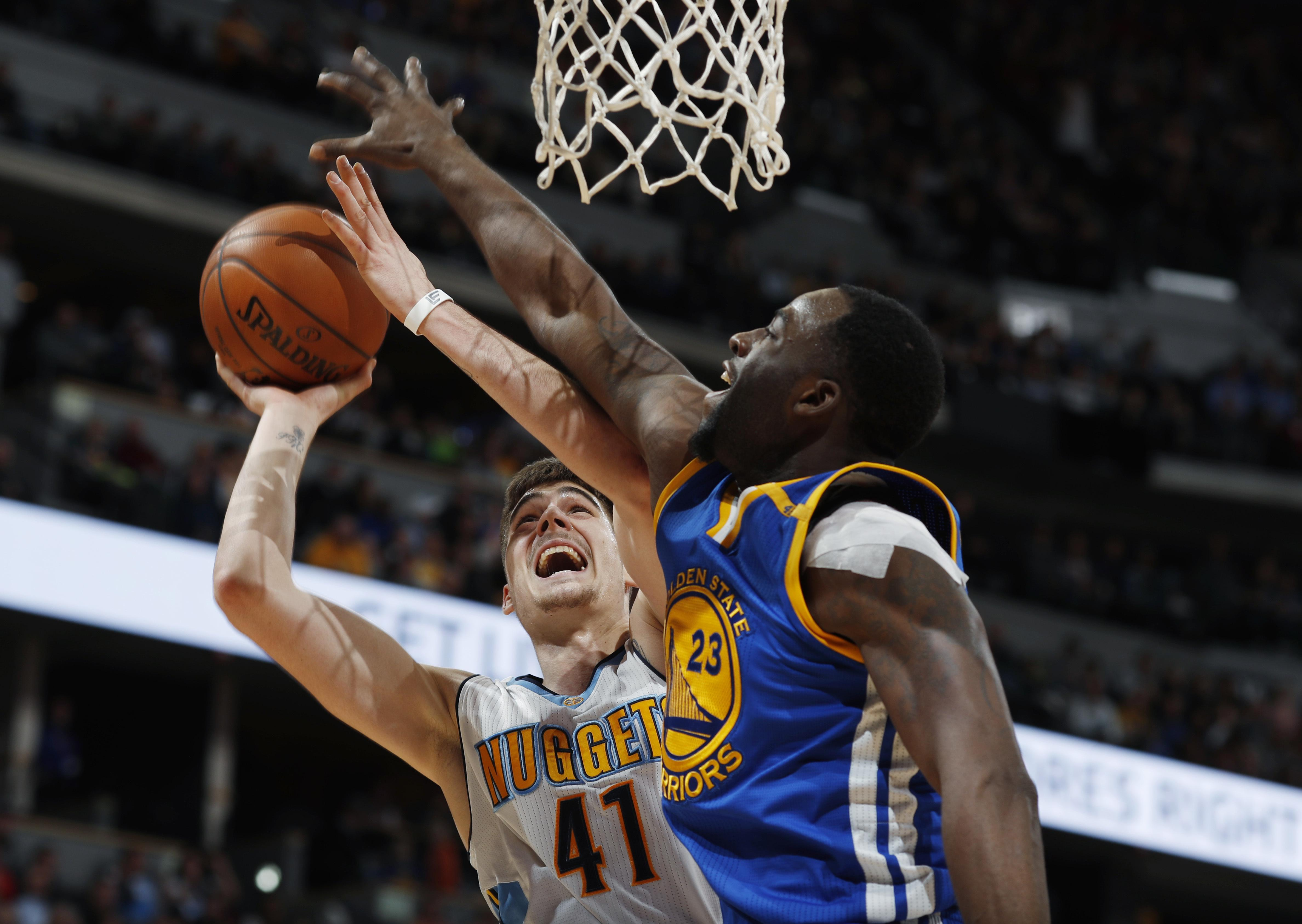 NBA roundup  Nuggets tie NBA mark with 24 3s in 132-110 win over ... fbc268f36