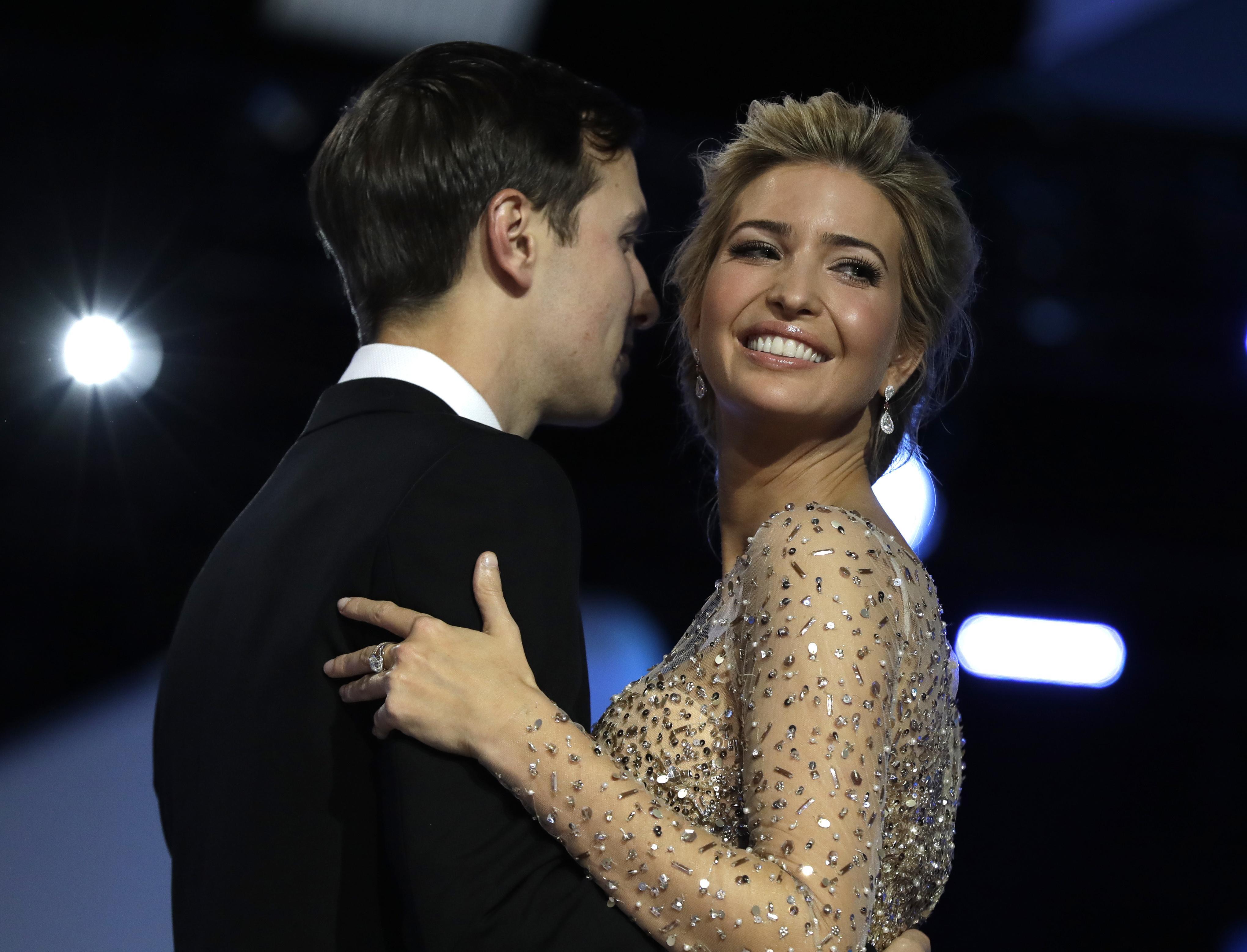 20 2017 File Photo Ivanka Trump And Her Husband