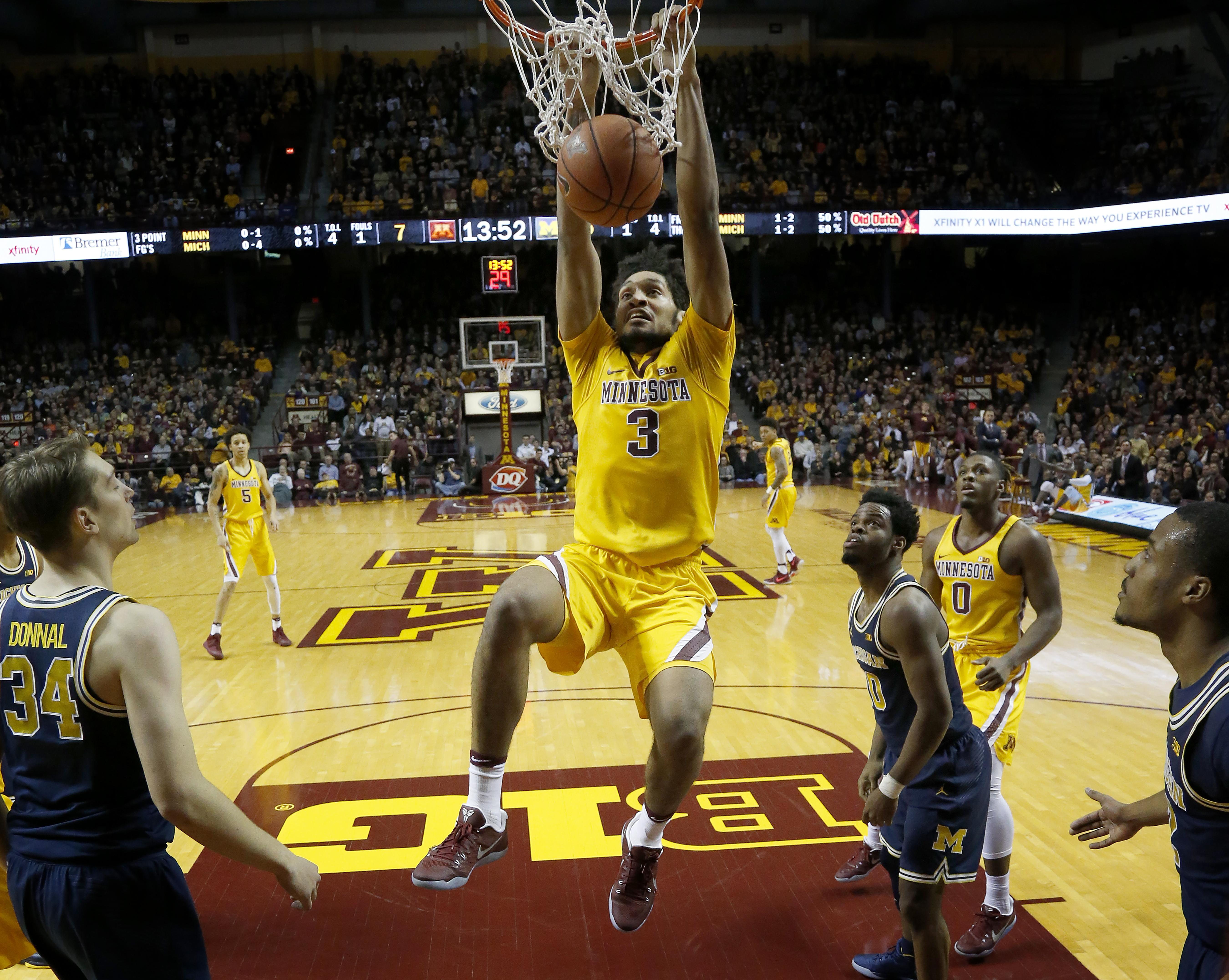 once under fire, richard pitino, gophers surging toward ncaa tourney