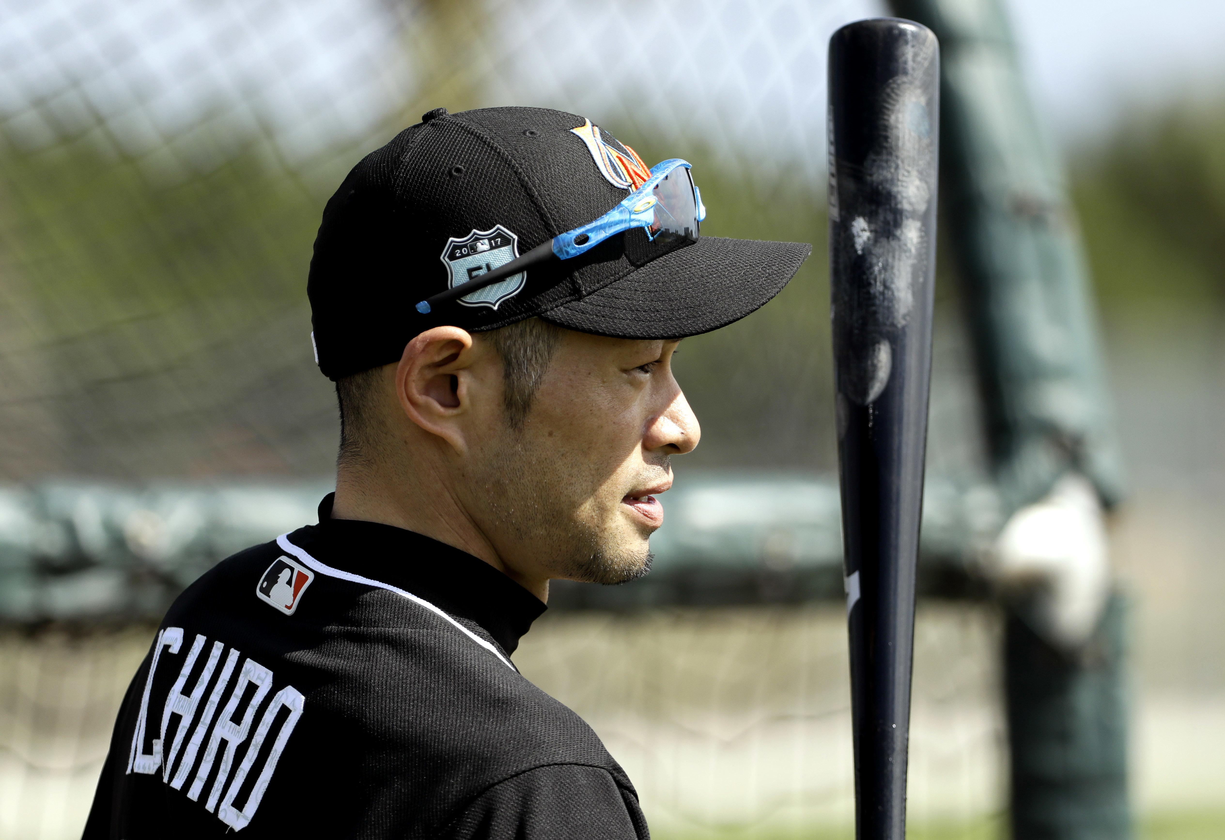 Marlins' Ichiro held out of workouts following collision | The ...