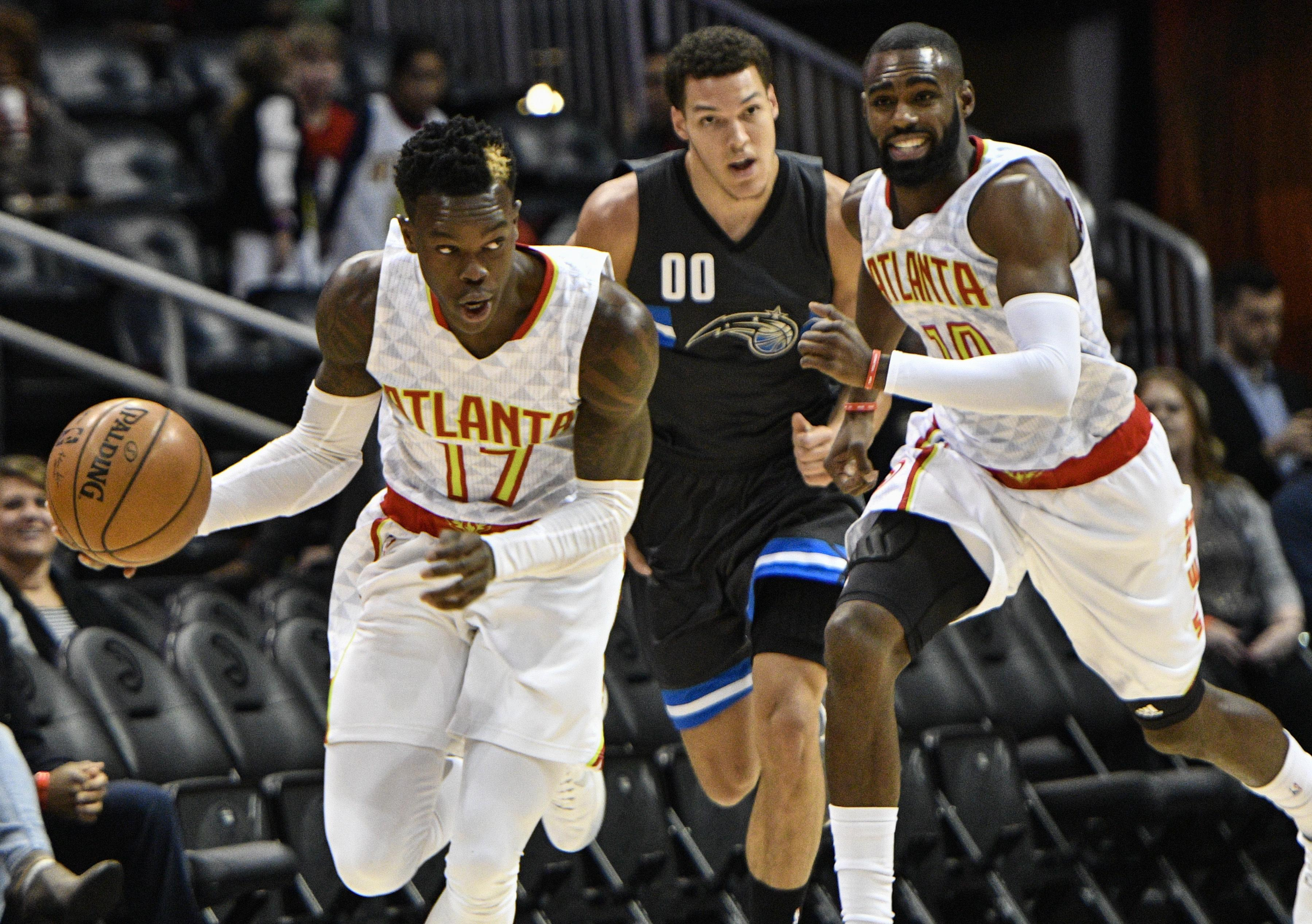 Hawks suspend Dennis Schroder for a game for late return to team ... 32385408e