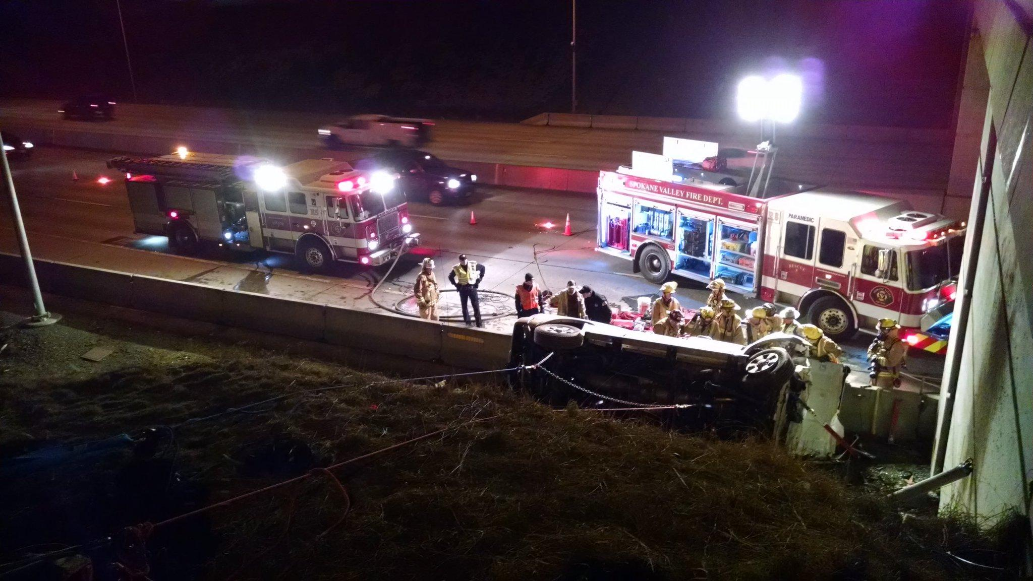 Driver killed in crash on Interstate 90 at Pines Road ...