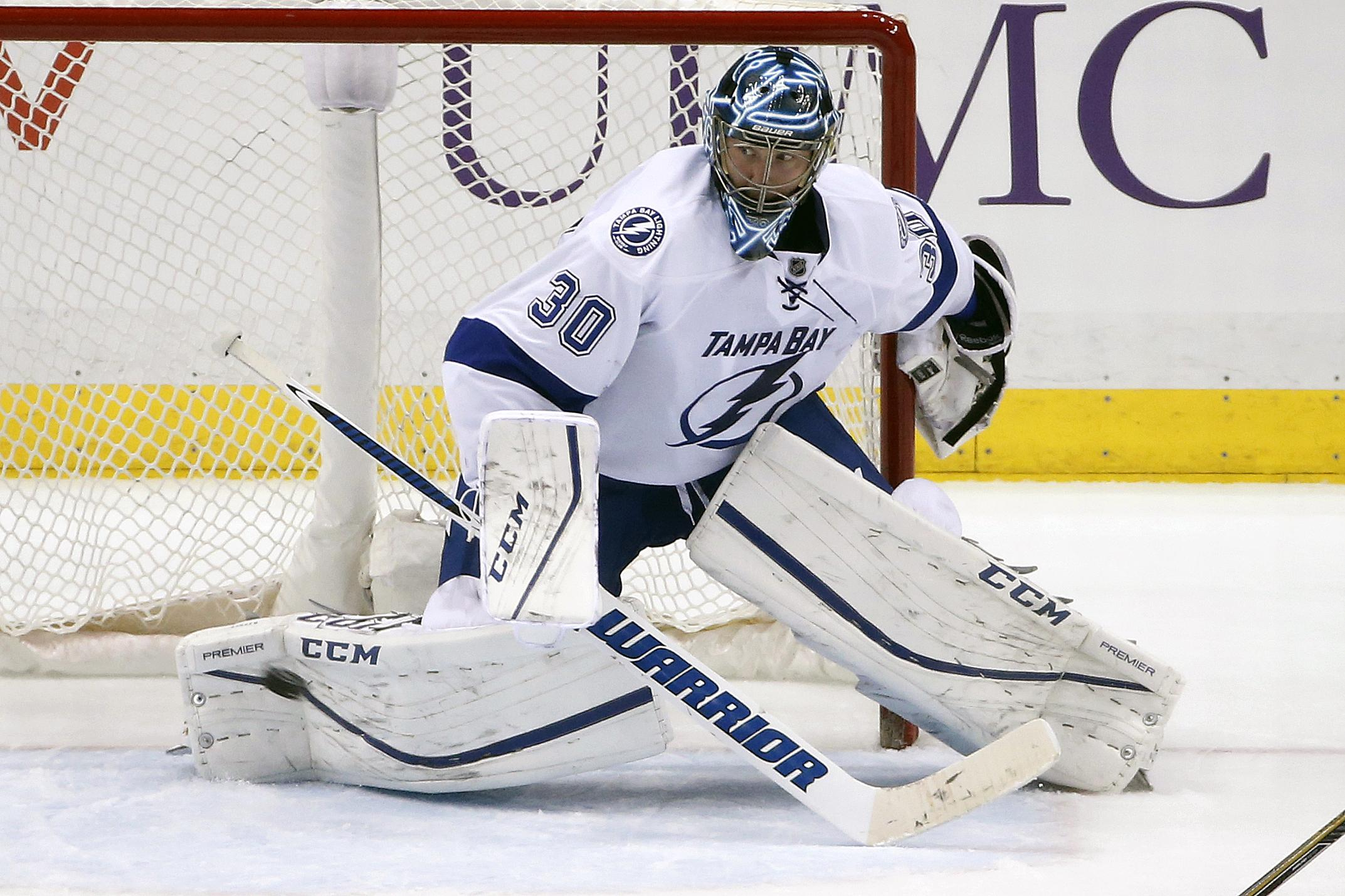 size 40 b8b95 9ff39 L.A. Kings acquire goalie Ben Bishop in trade with Lightning ...