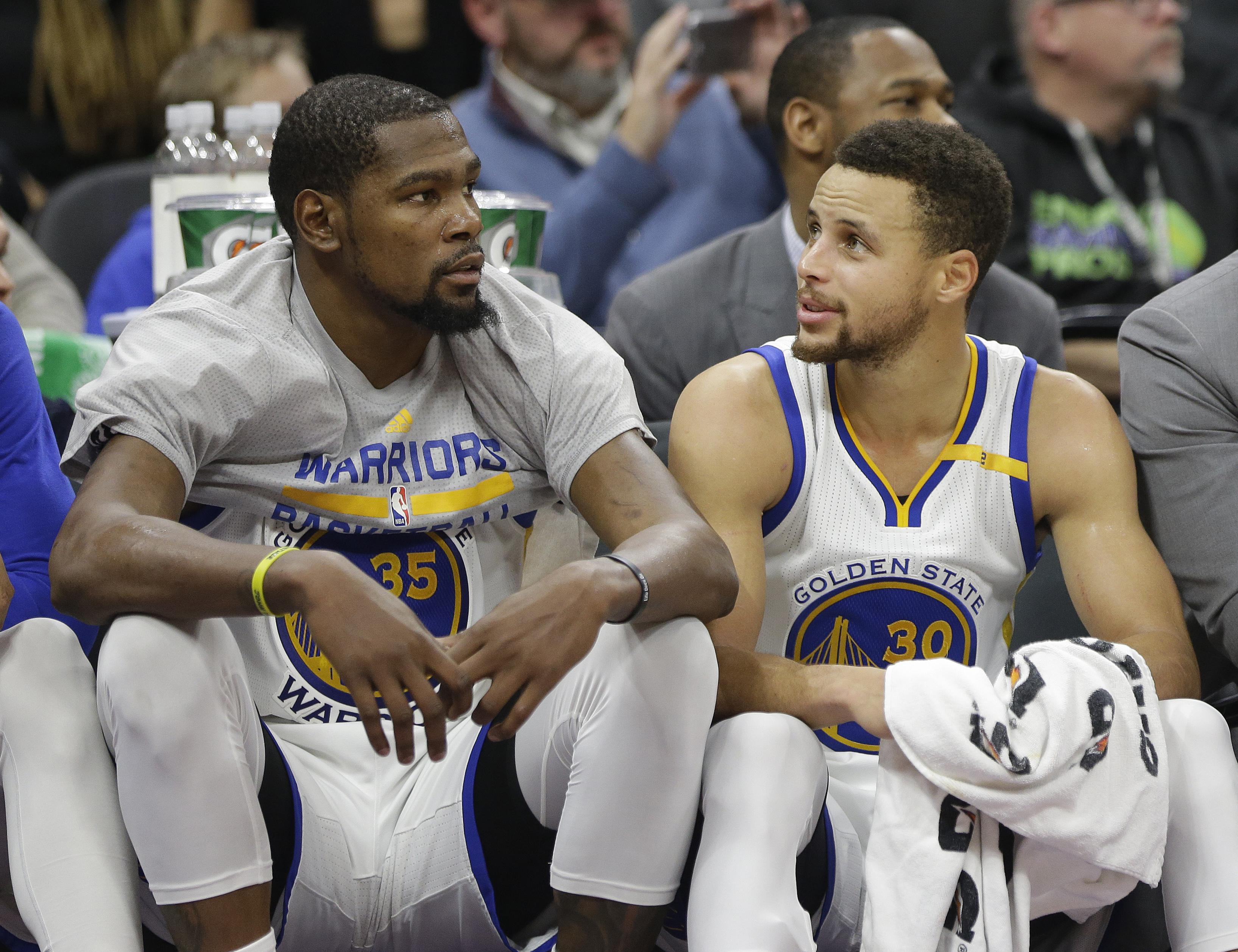 e69eebd55a6a Warriors maintain focus while Kevin Durant recovers