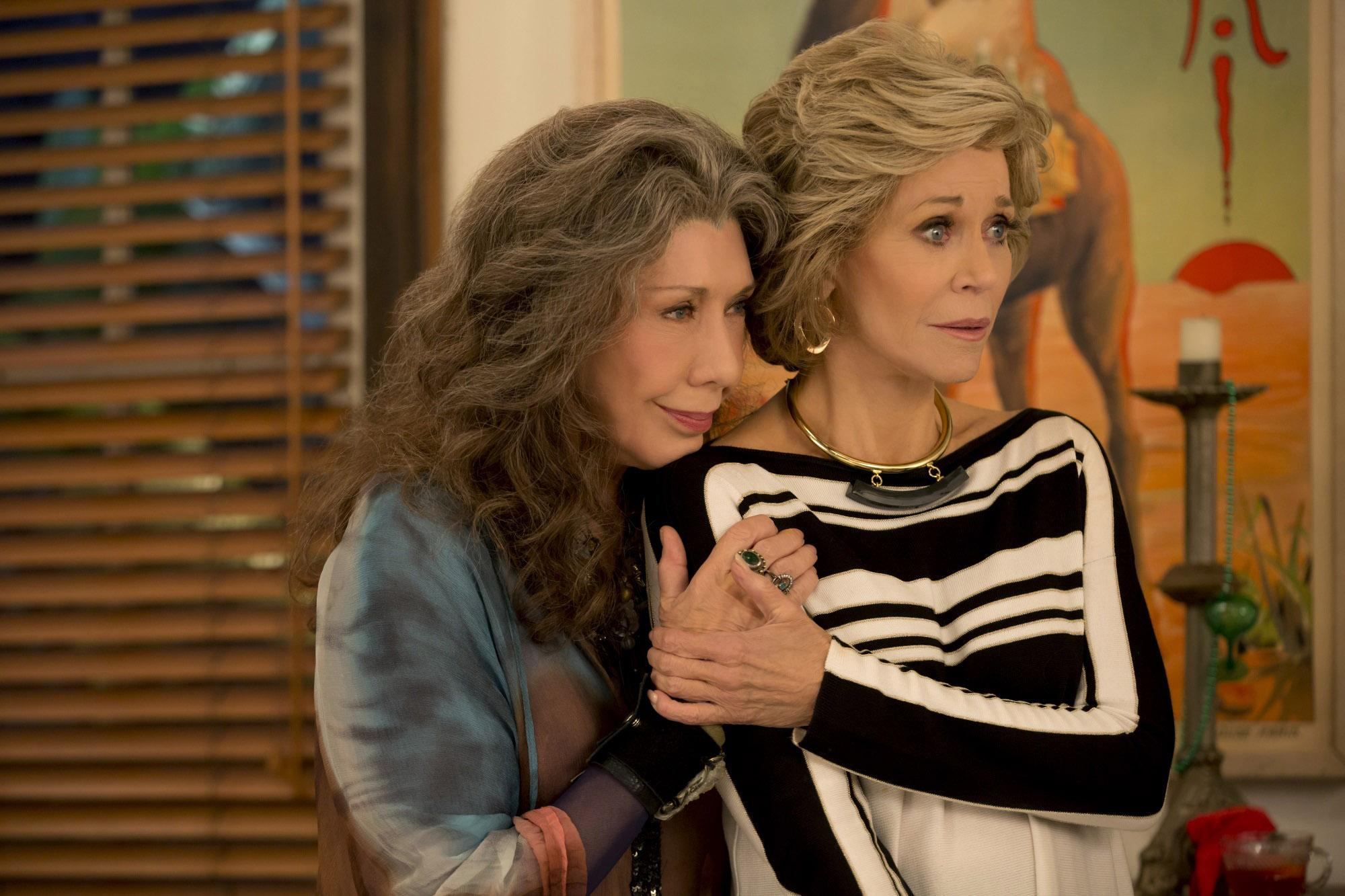 0c7f3139964dfc Lily Tomlin and Jane Fonda are back for a third season in