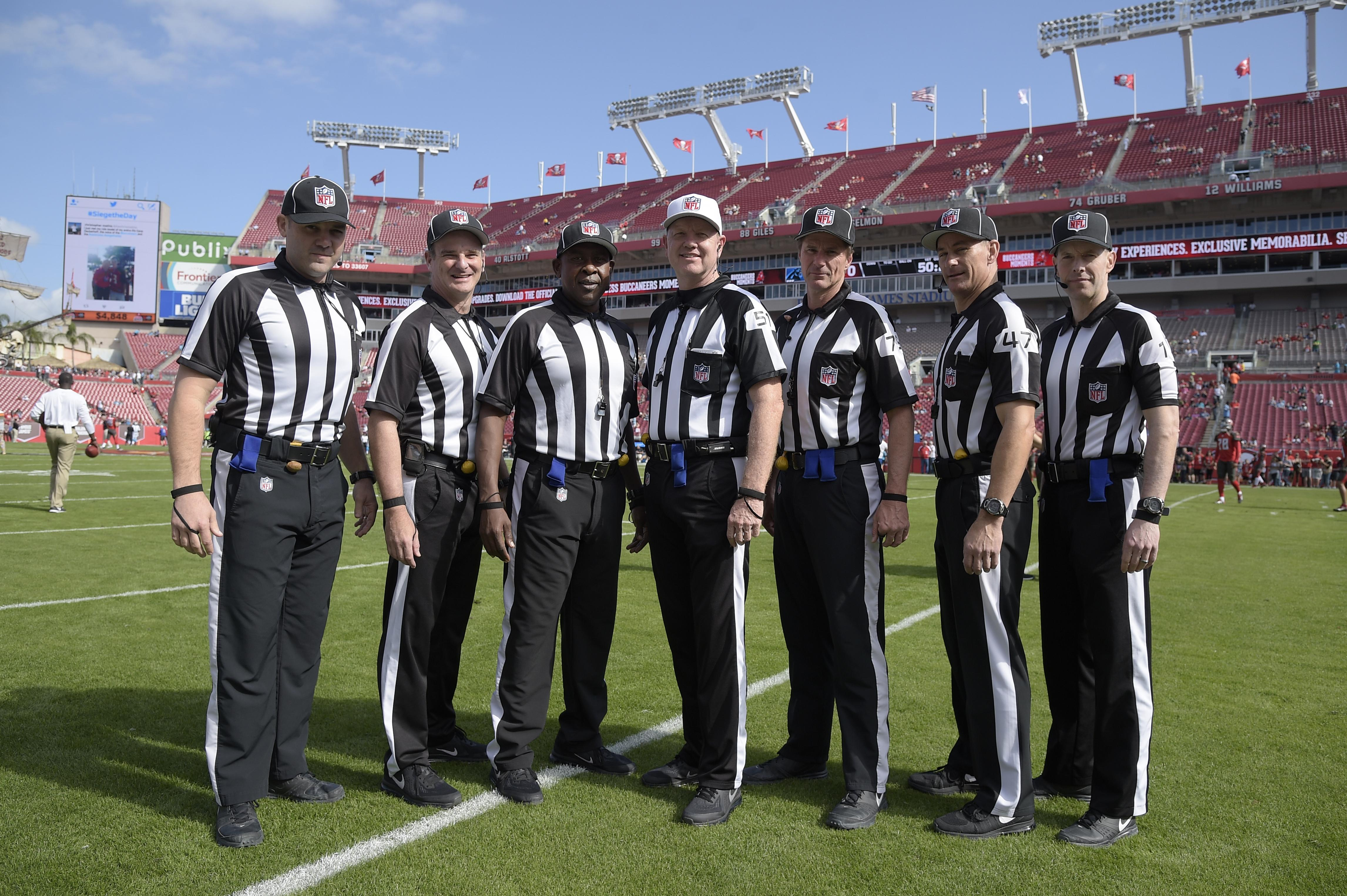Nfl Referees Group Adds 4 Members To Start Work In 2017 The