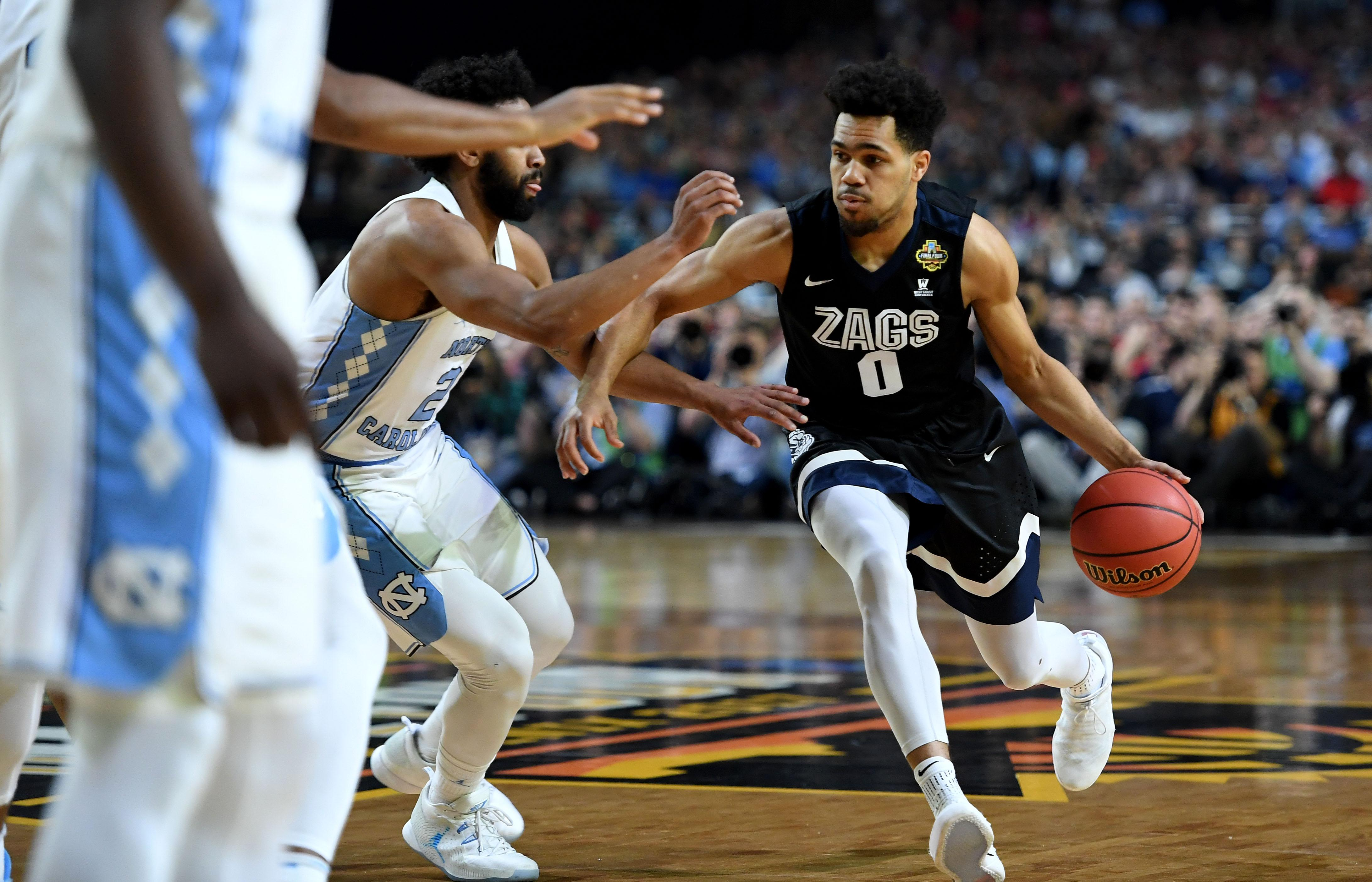 Highlights from the national championship gonzaga vs north carolina - Updates From Glendale During Gonzaga S Loss To North Carolina In Ncaa Championship Game The Spokesman Review