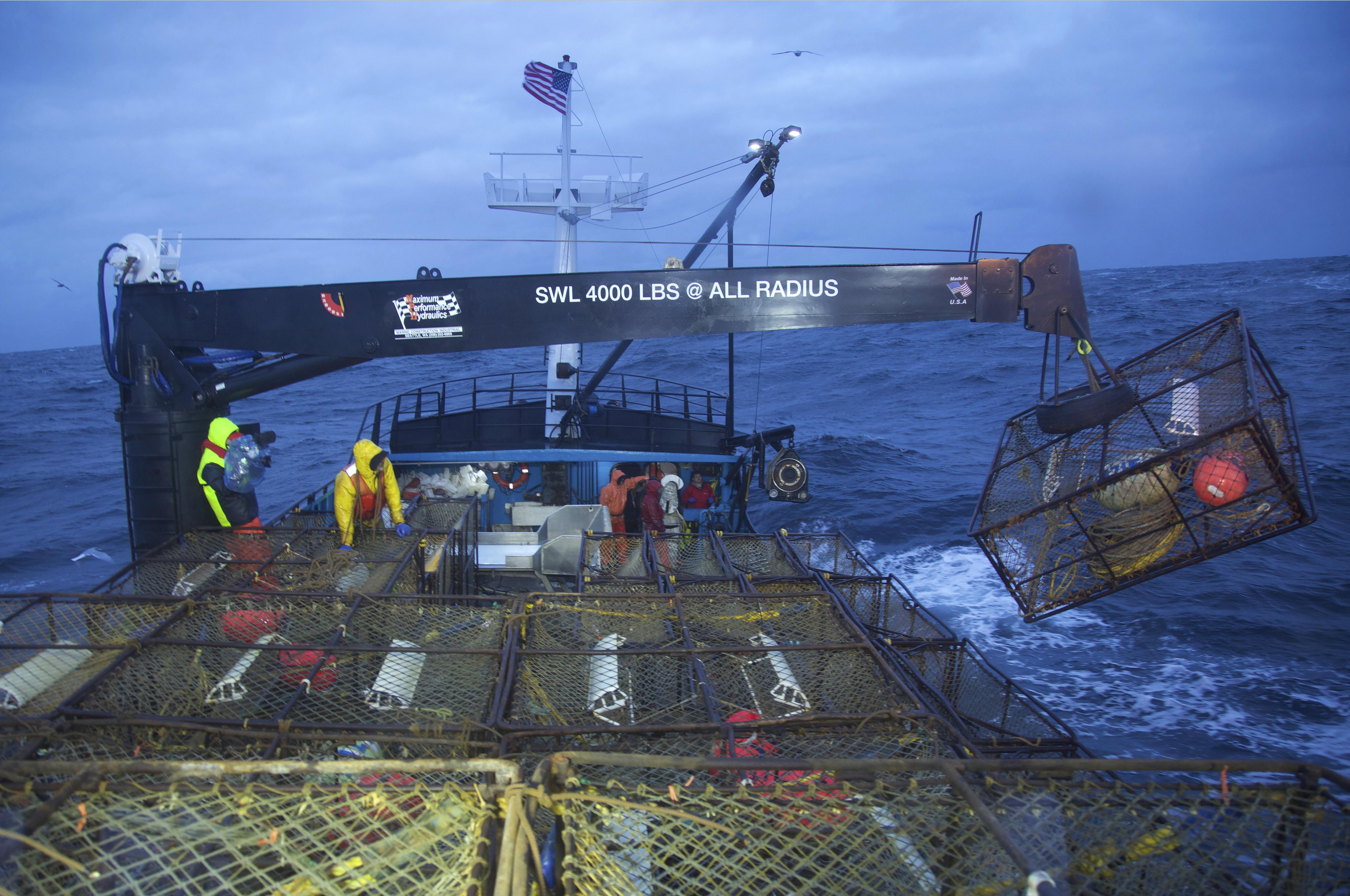 climate change a character in discovery s deadliest catch the