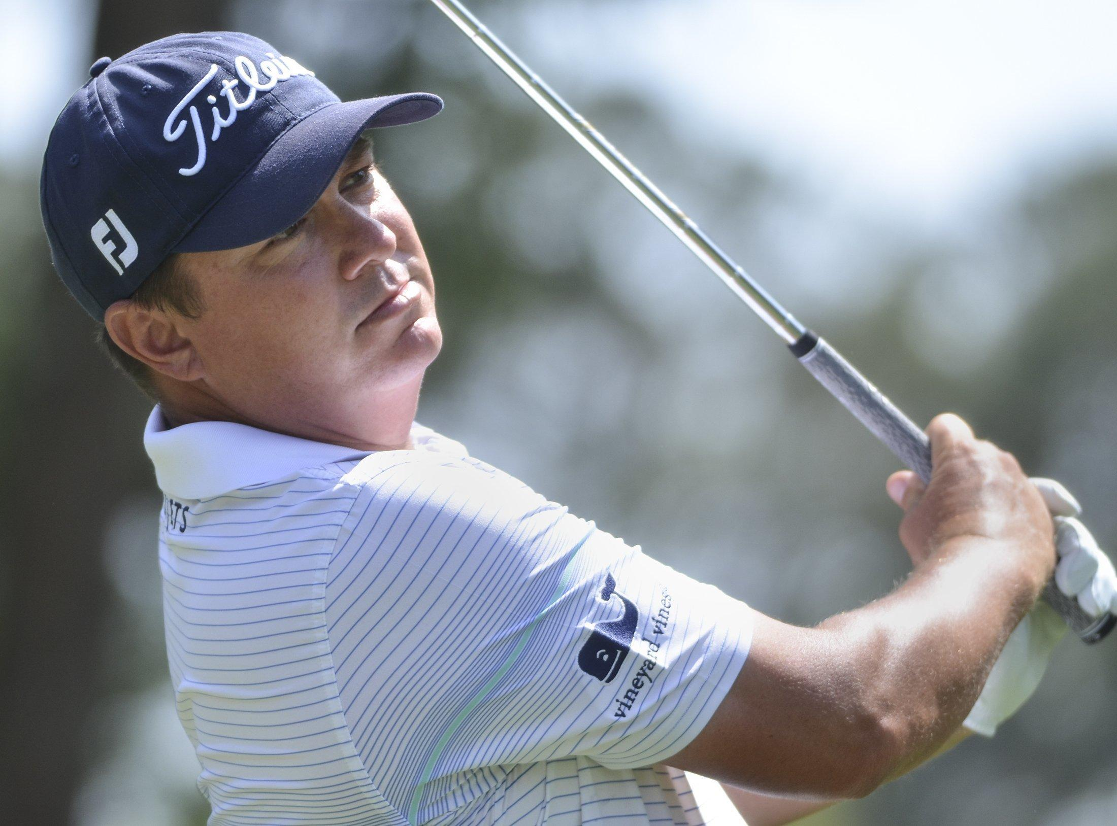 Jason Dufner Eagles Twice To Lead Rbc Heritage Through 3 Rounds