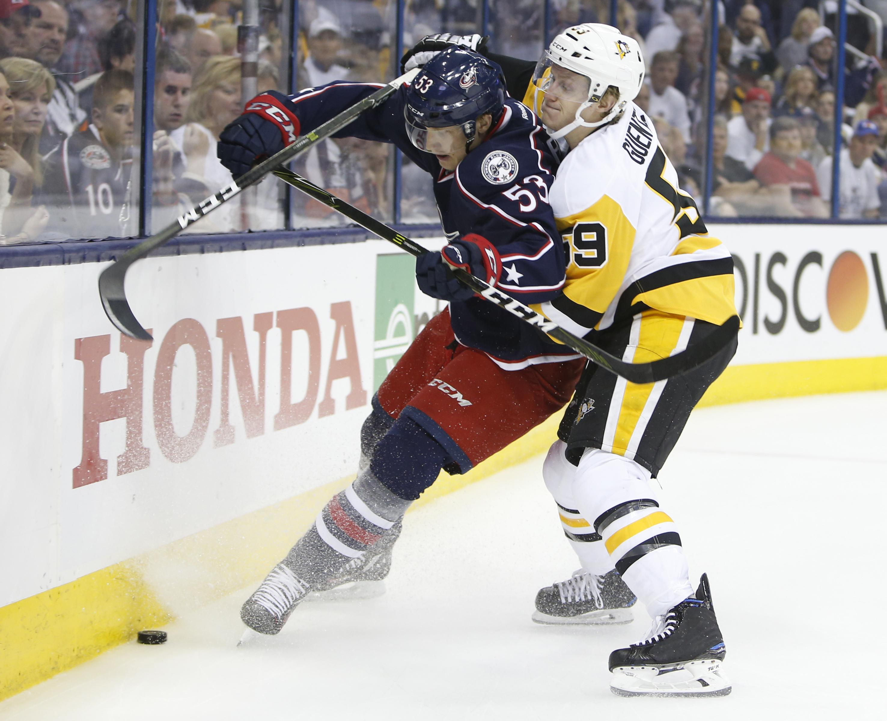 NHL capsules: Pittsburgh Penguins beat Columbus Blue Jackets 5-4 ...