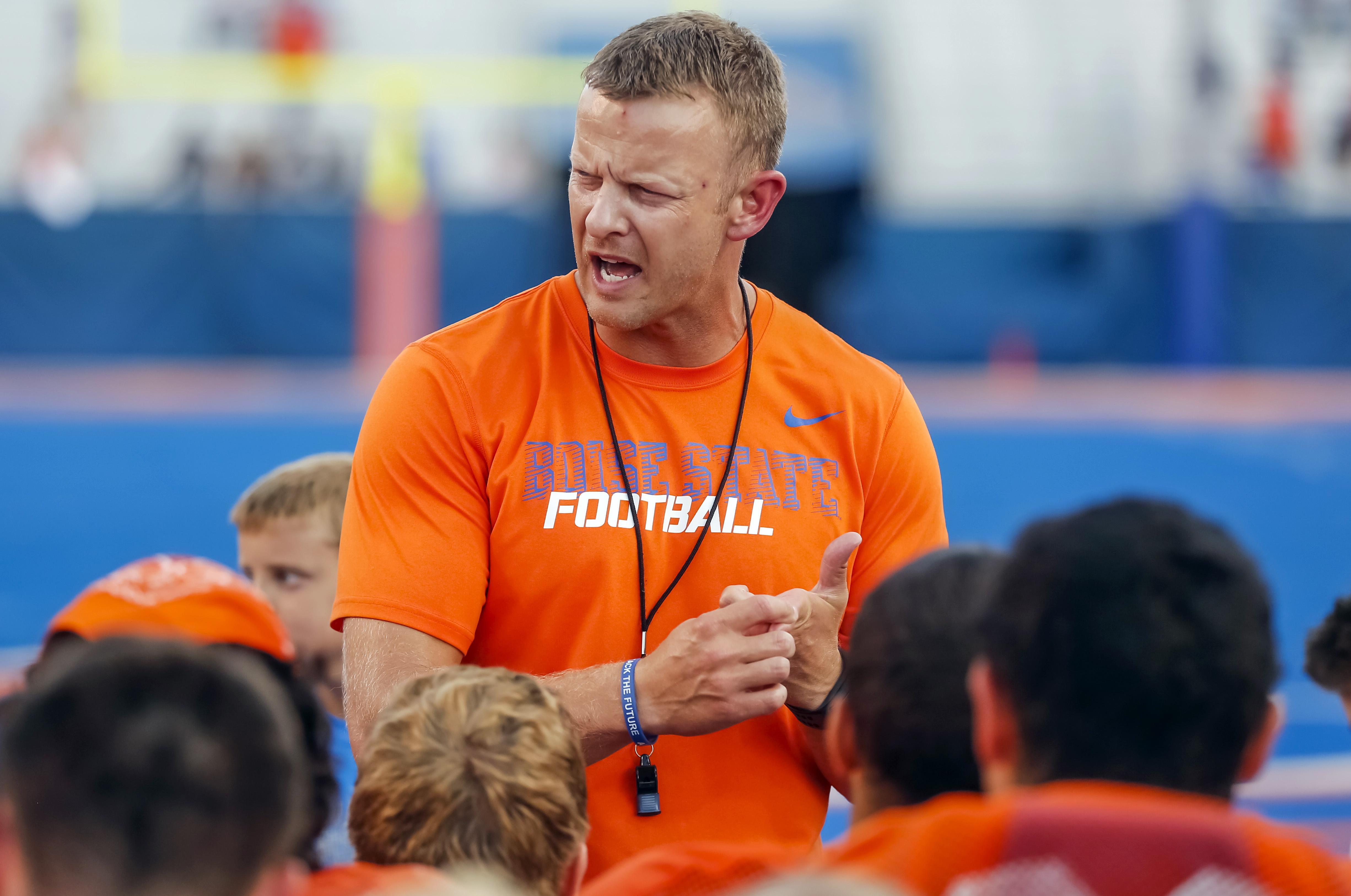 best selling authentic elegant shoes Boise State head football coach eligible for bigger bonuses ...