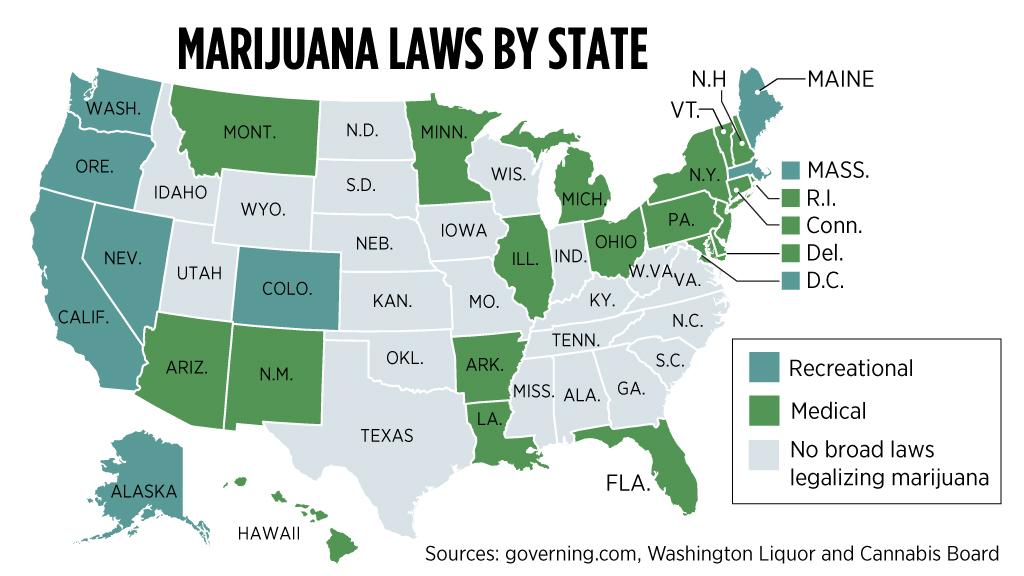 Marijuana has truly gone mainstream, survey finds | The Spokesman-Review