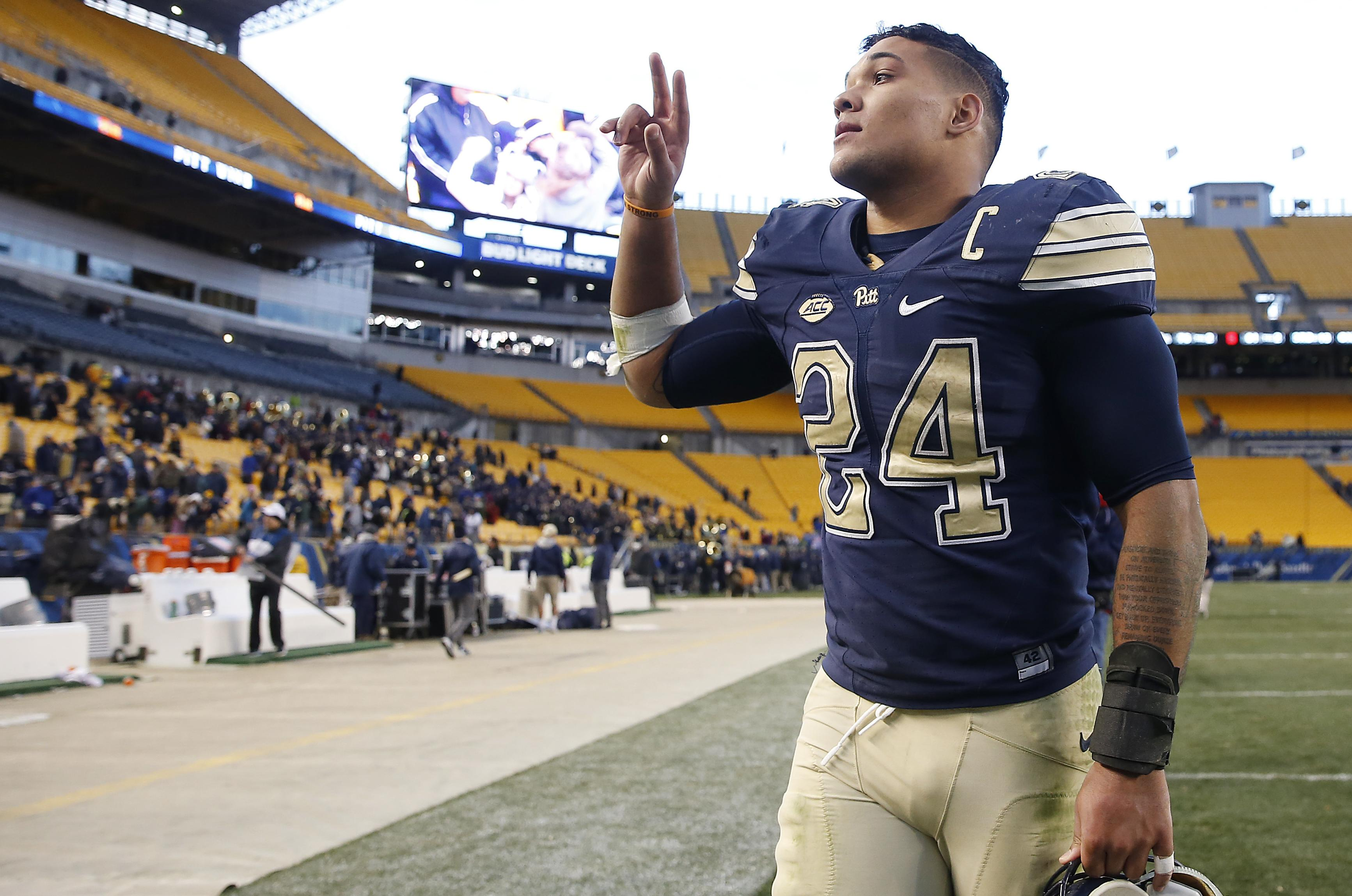 Pittsburgh Panthers running back James Conner has overcome injuries and a  cancer diagnosis to continue his f65a742a7