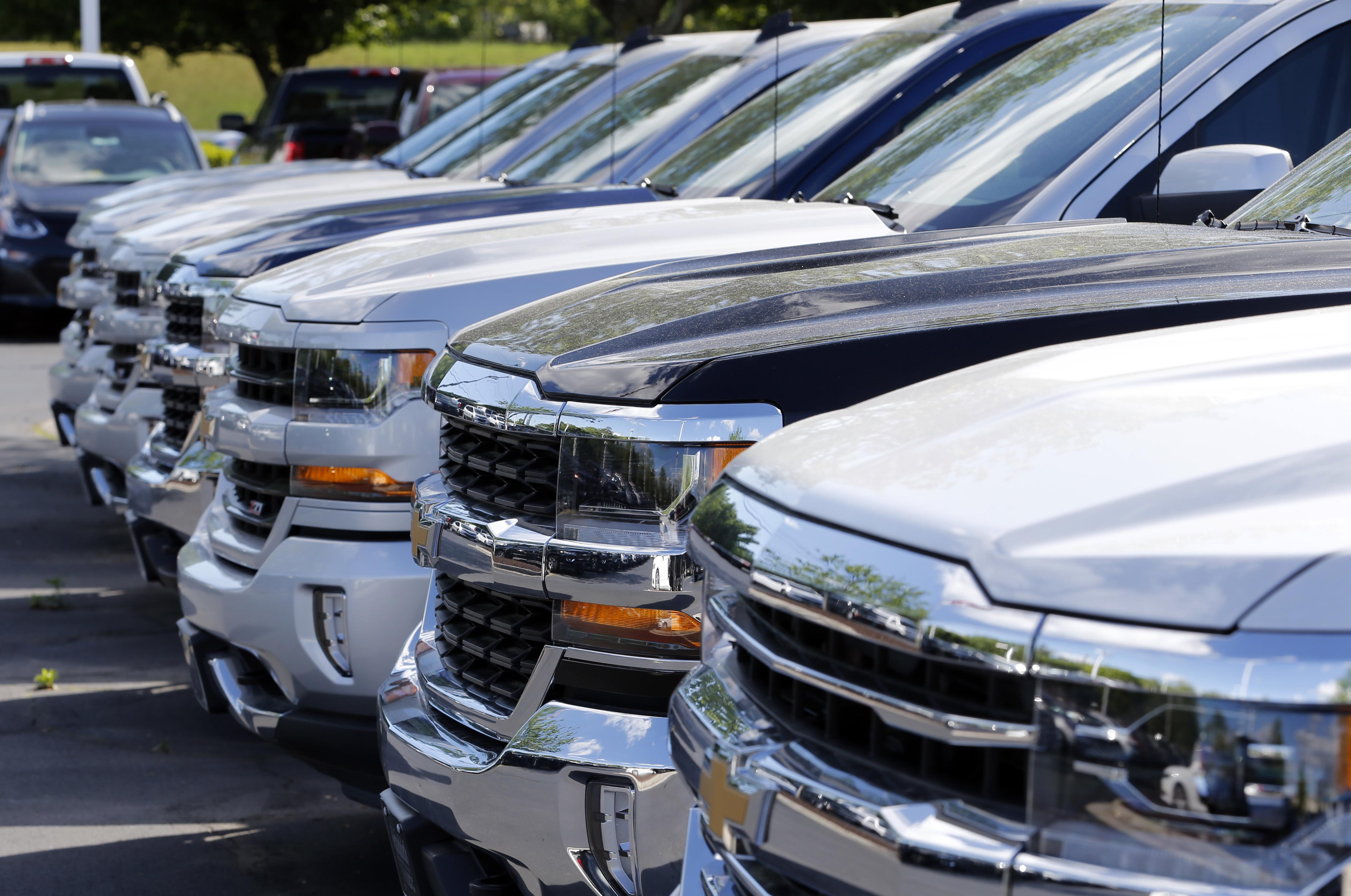 Ford, Nissan, GM, Toyota report April US sales declines | The ...