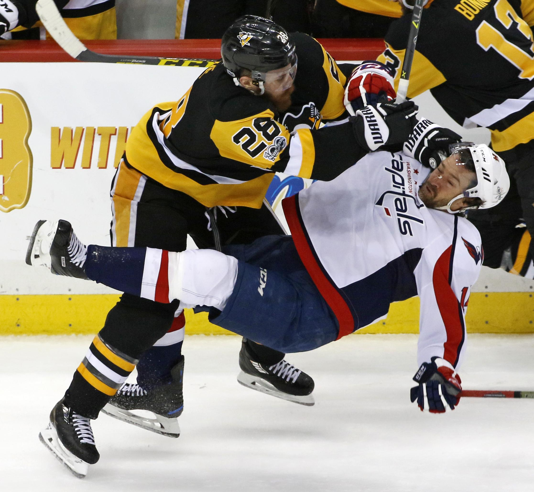 Penguins Relying On Grit Defense To Take Control Vs Caps