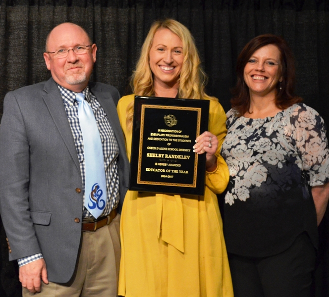 Coeur D'Alene School District Honors Teacher Of The Year