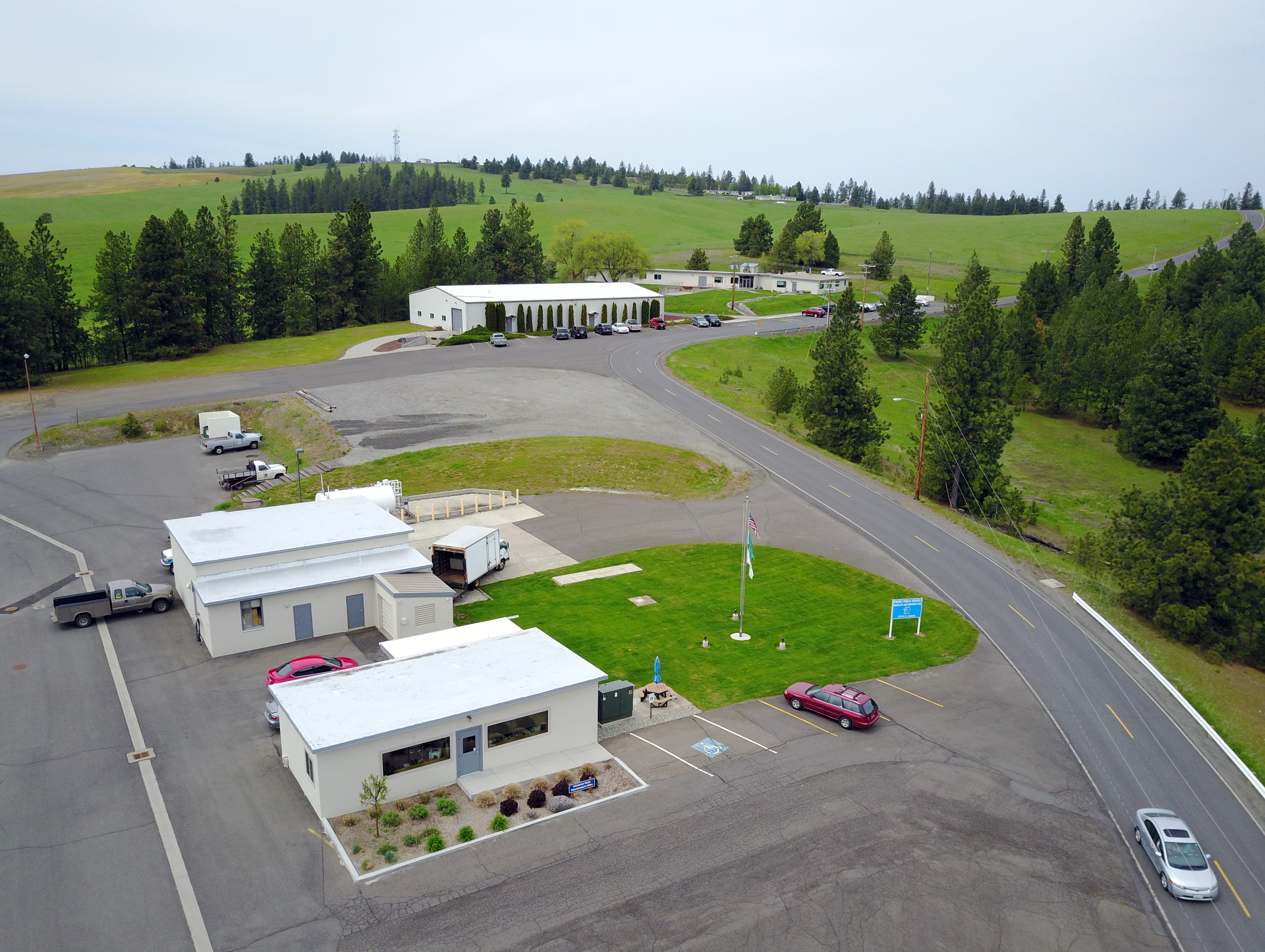 Cold War era missile base now administrative heart of Cheney ...