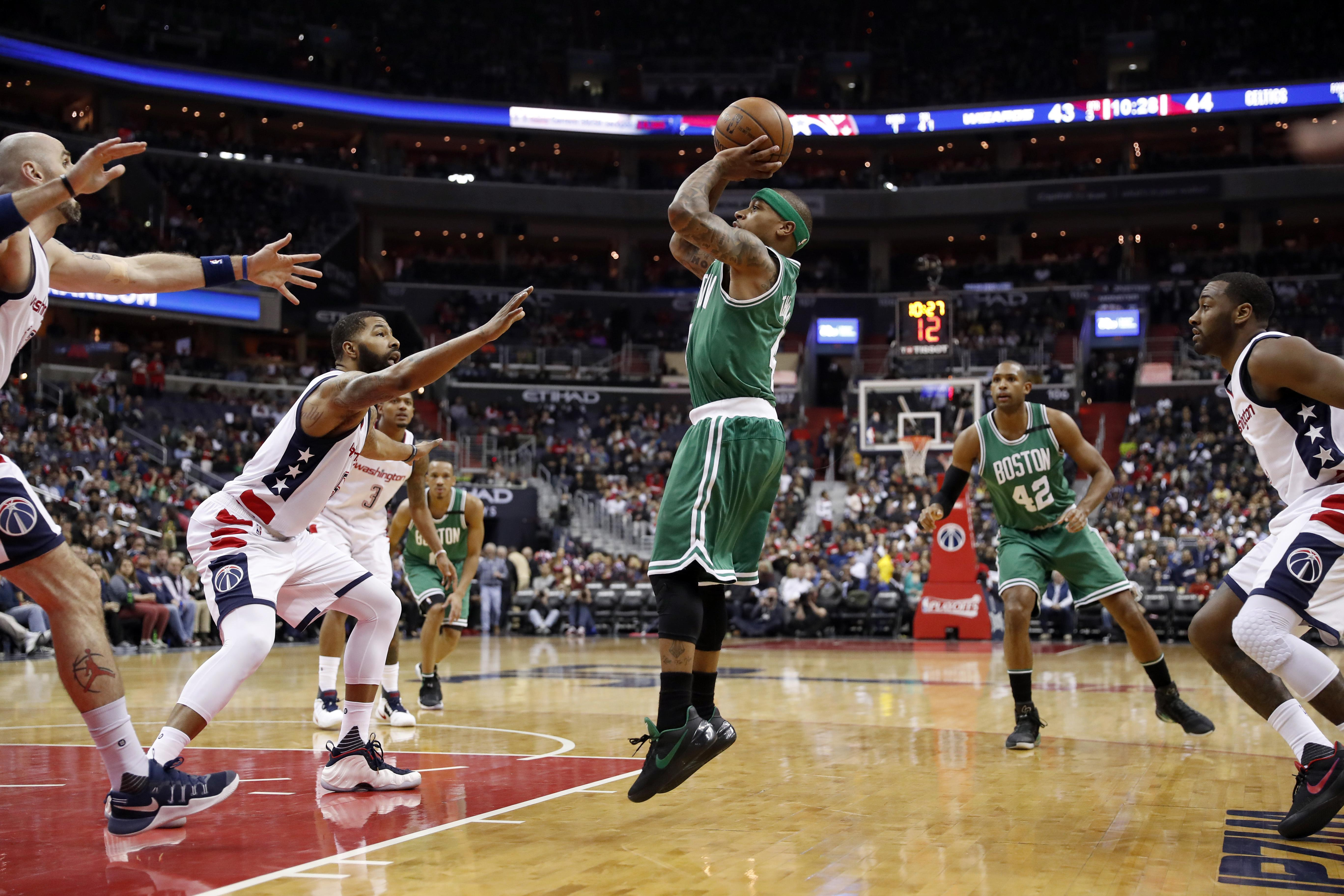 boston celtics vs washington wizards live stream free