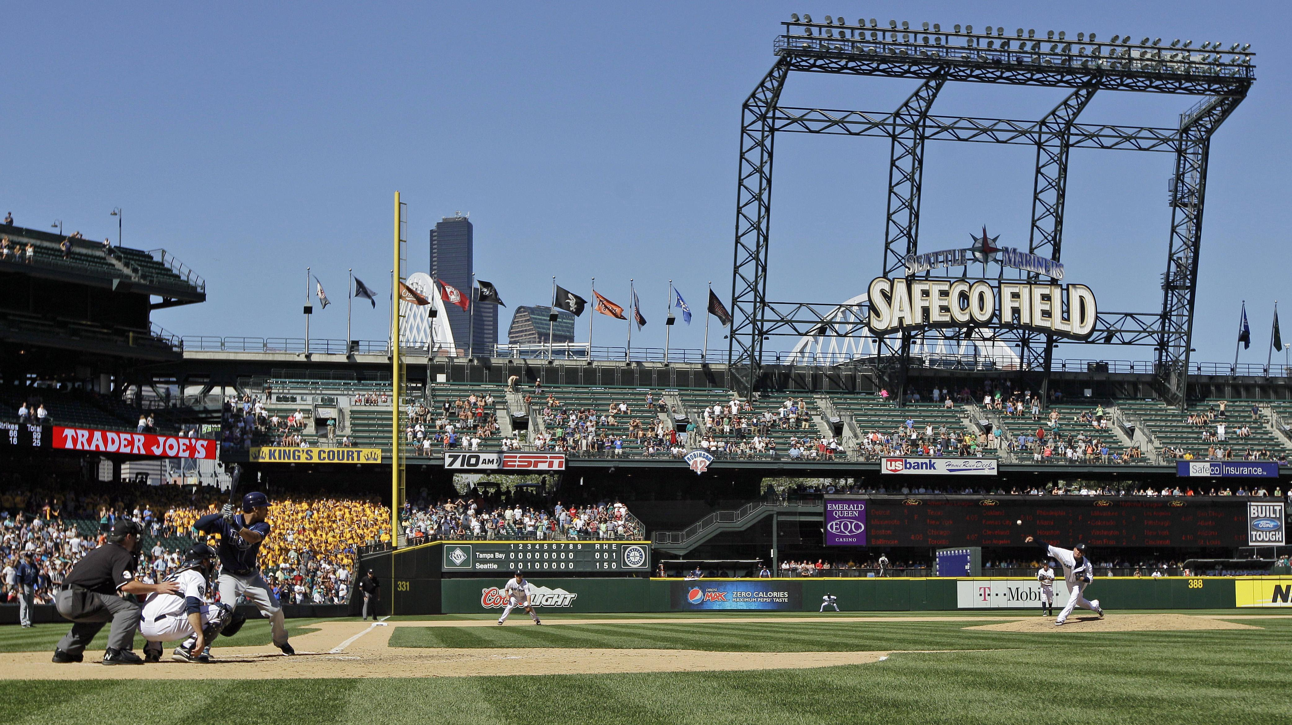Mariners Safeco not extending naming rights deal