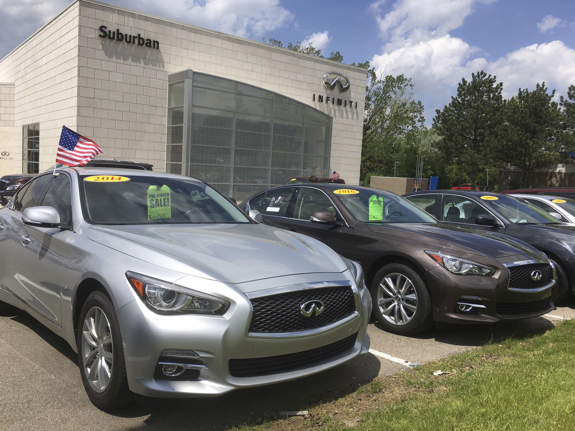 Off-lease used cars are flooding market, pushing prices down | The ...
