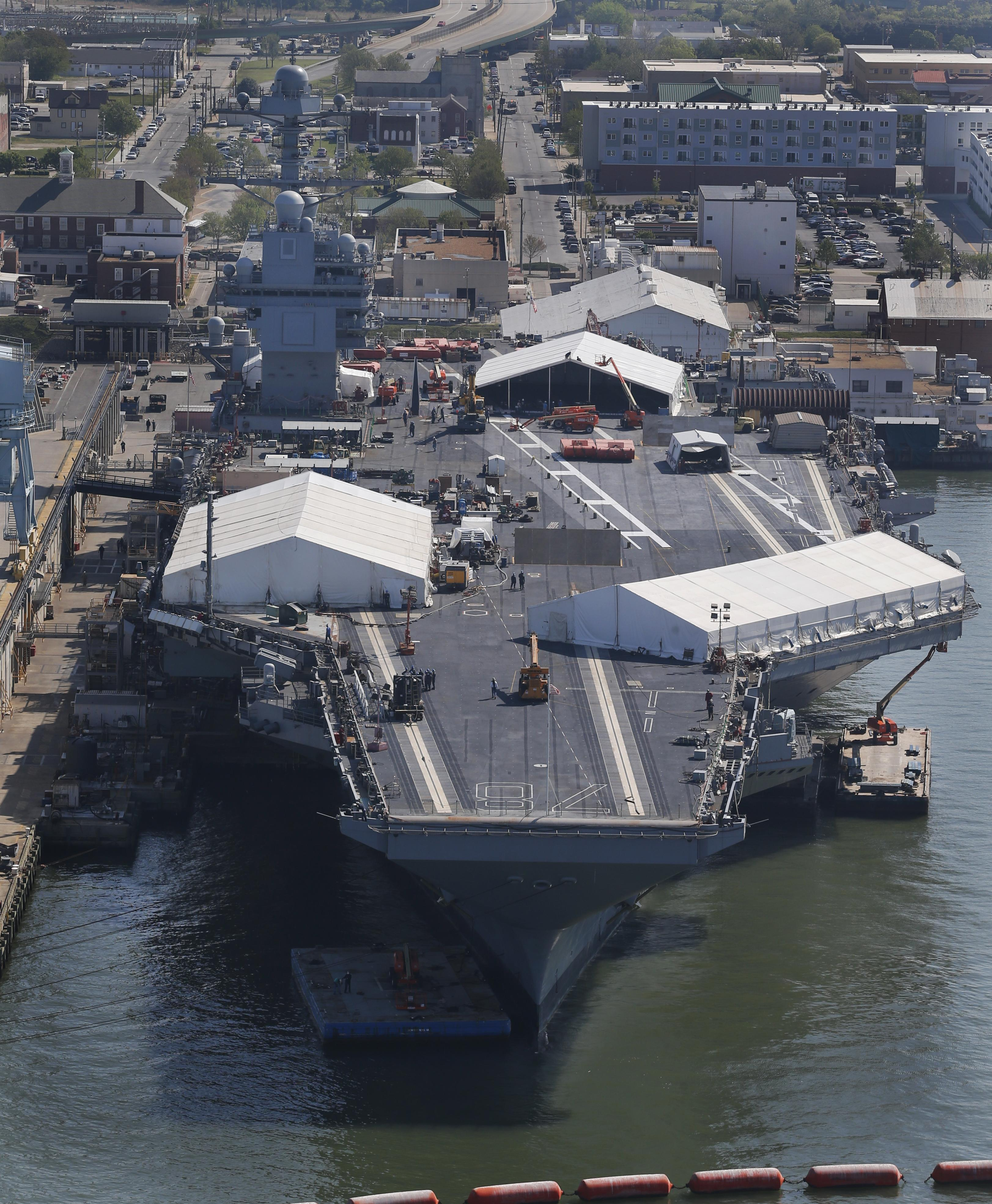 Navy gets its Ford: $12 9 billion aircraft carrier delivered