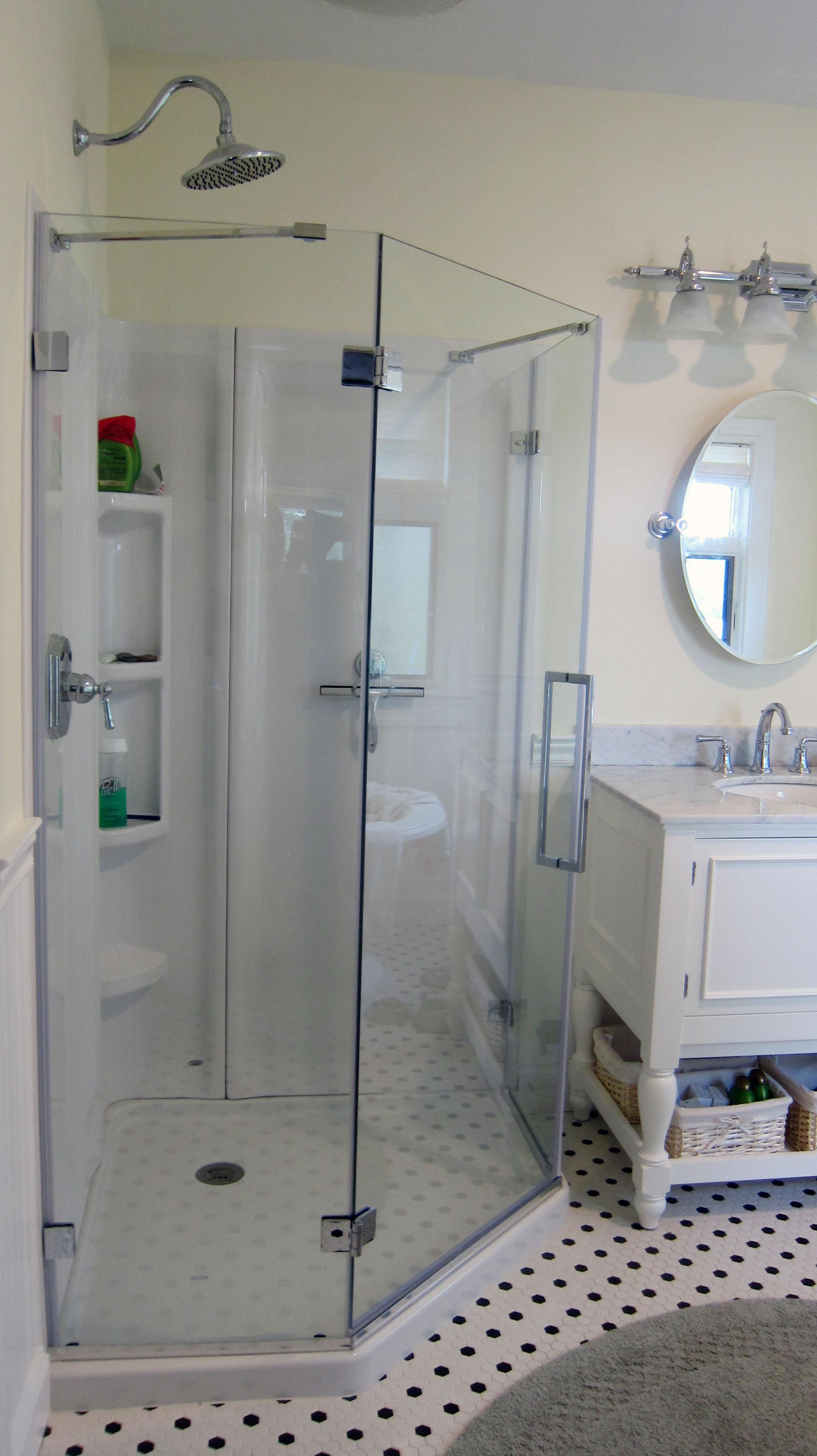 Ask the Builder: Acrylic shower designs have come a long way | The ...