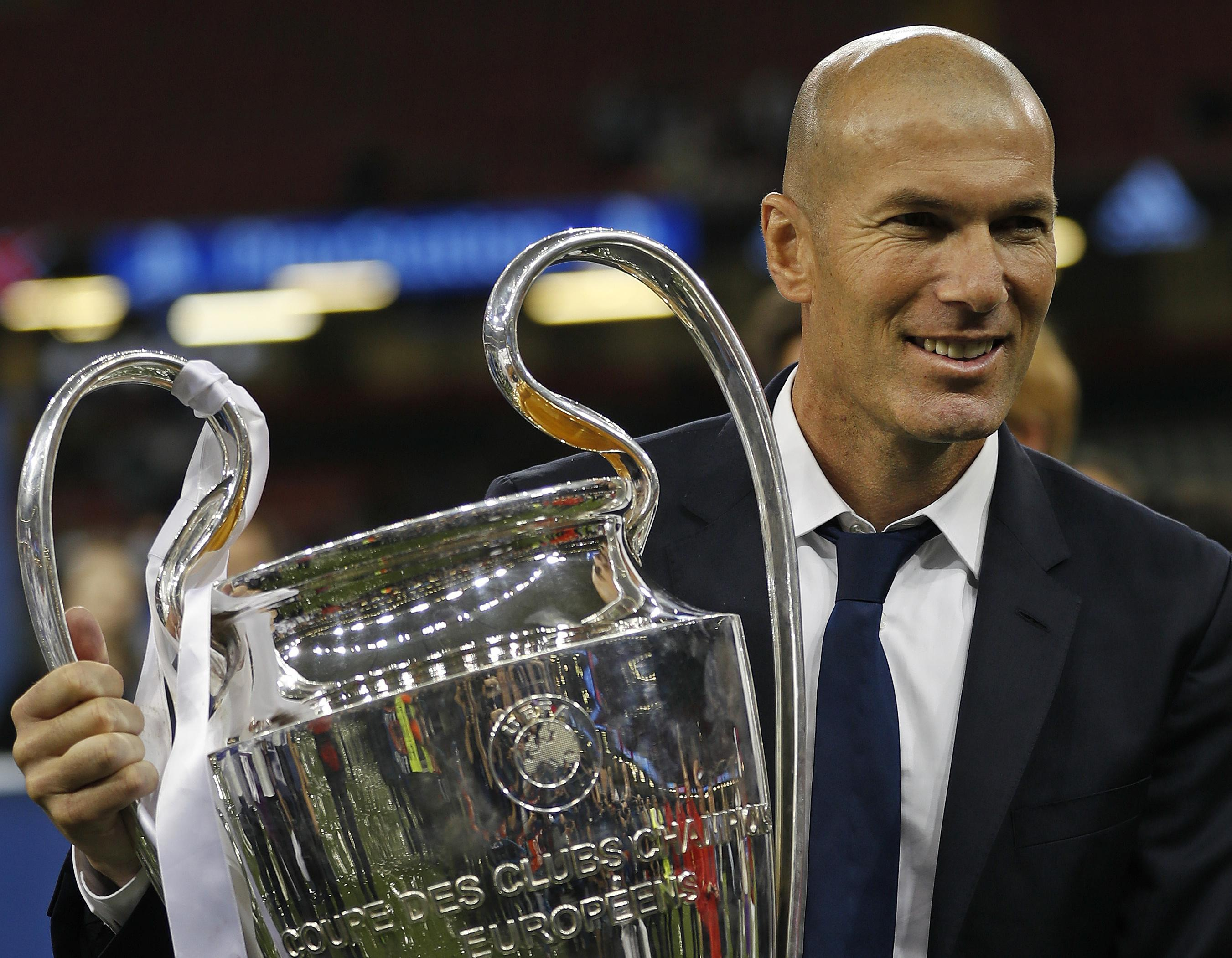 Another major trophy in Zinedine Zidane's young coaching career | The Spokesman-Review