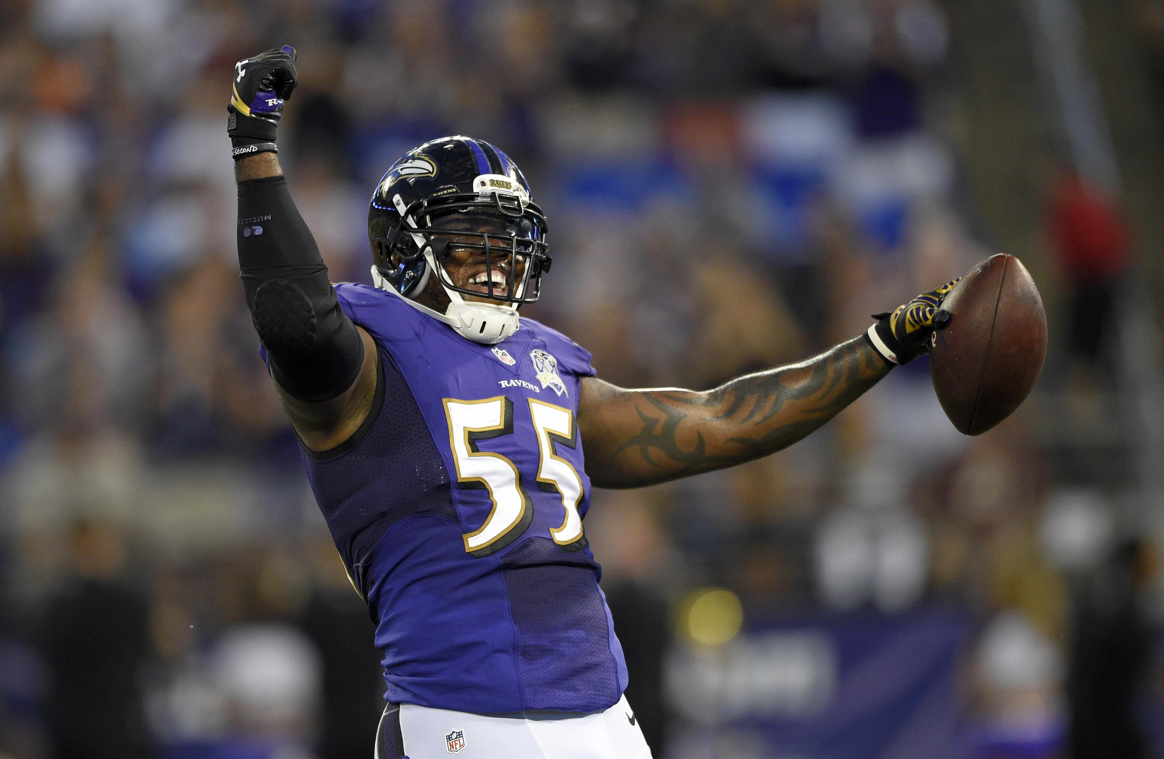 Ravens' Terrell Suggs ramps up intensity and workouts in 15th season