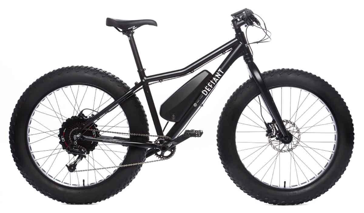 Electric Fat Bike >> Gear Junkie Electric Fat Bike Offers A Powerful Ride The