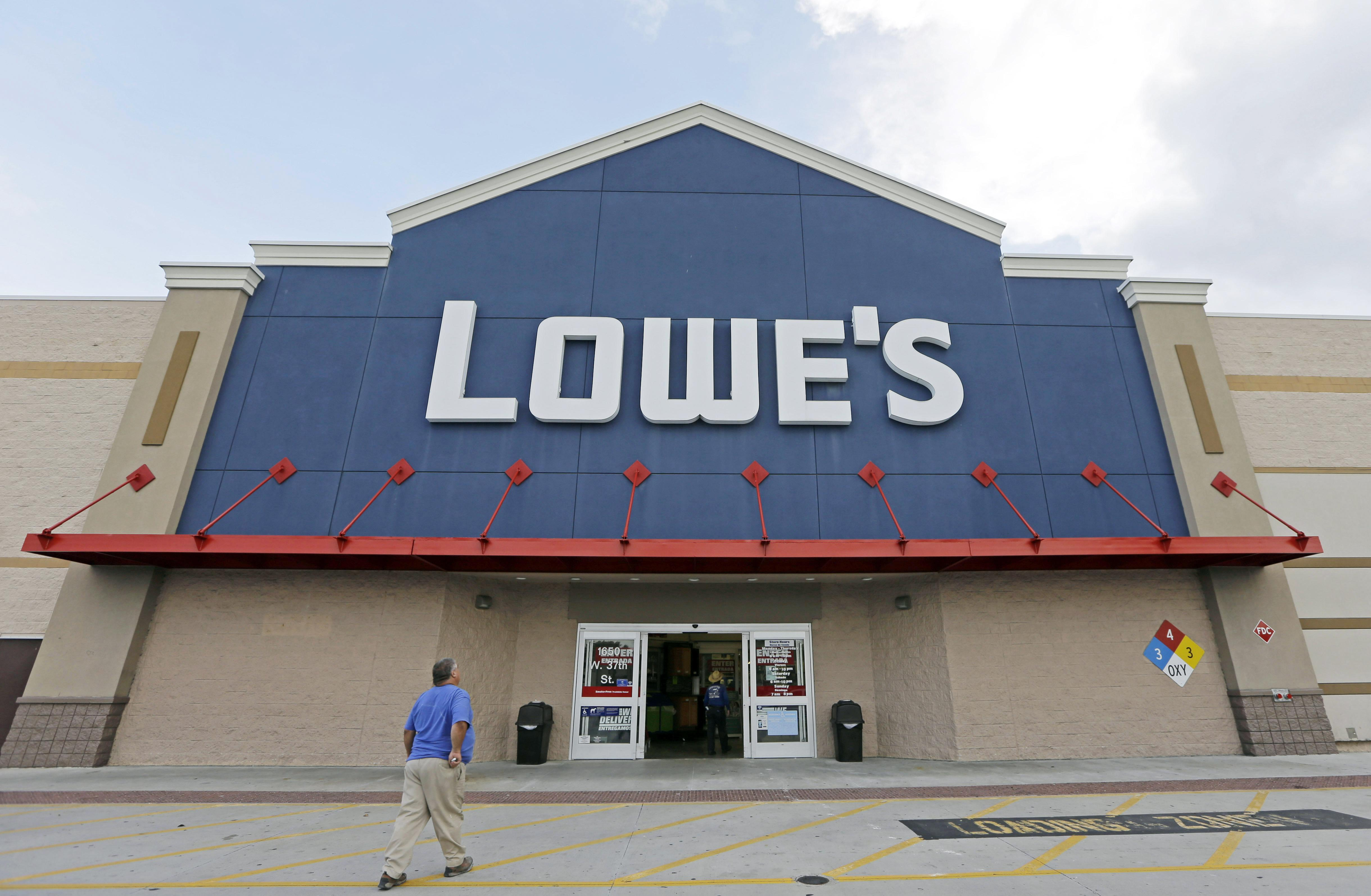 Lowe's announces major new deal with the NFL months after cutting