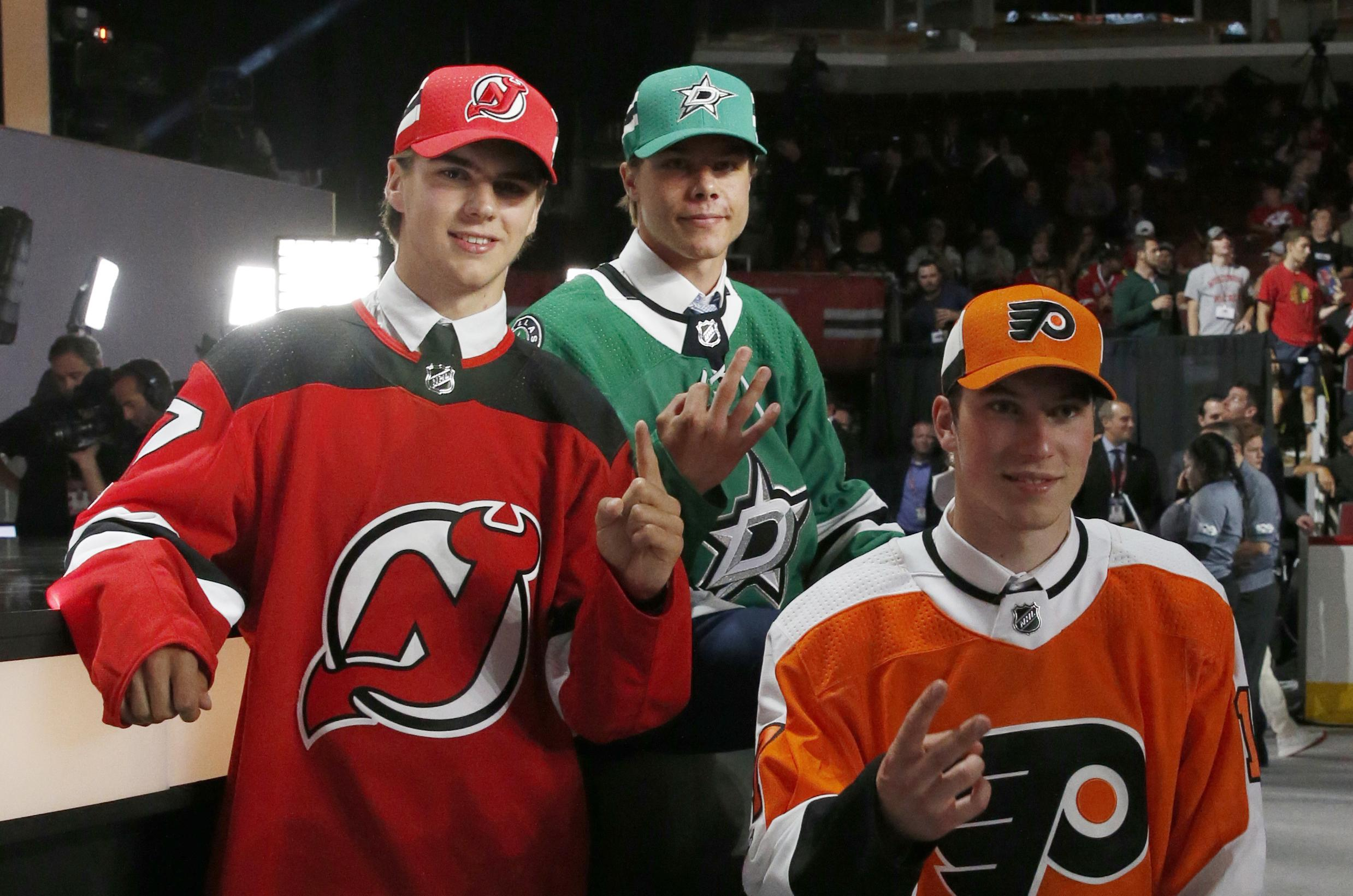 new arrival 06d67 44047 Parade of forwards at top of NHL draft | The Spokesman-Review