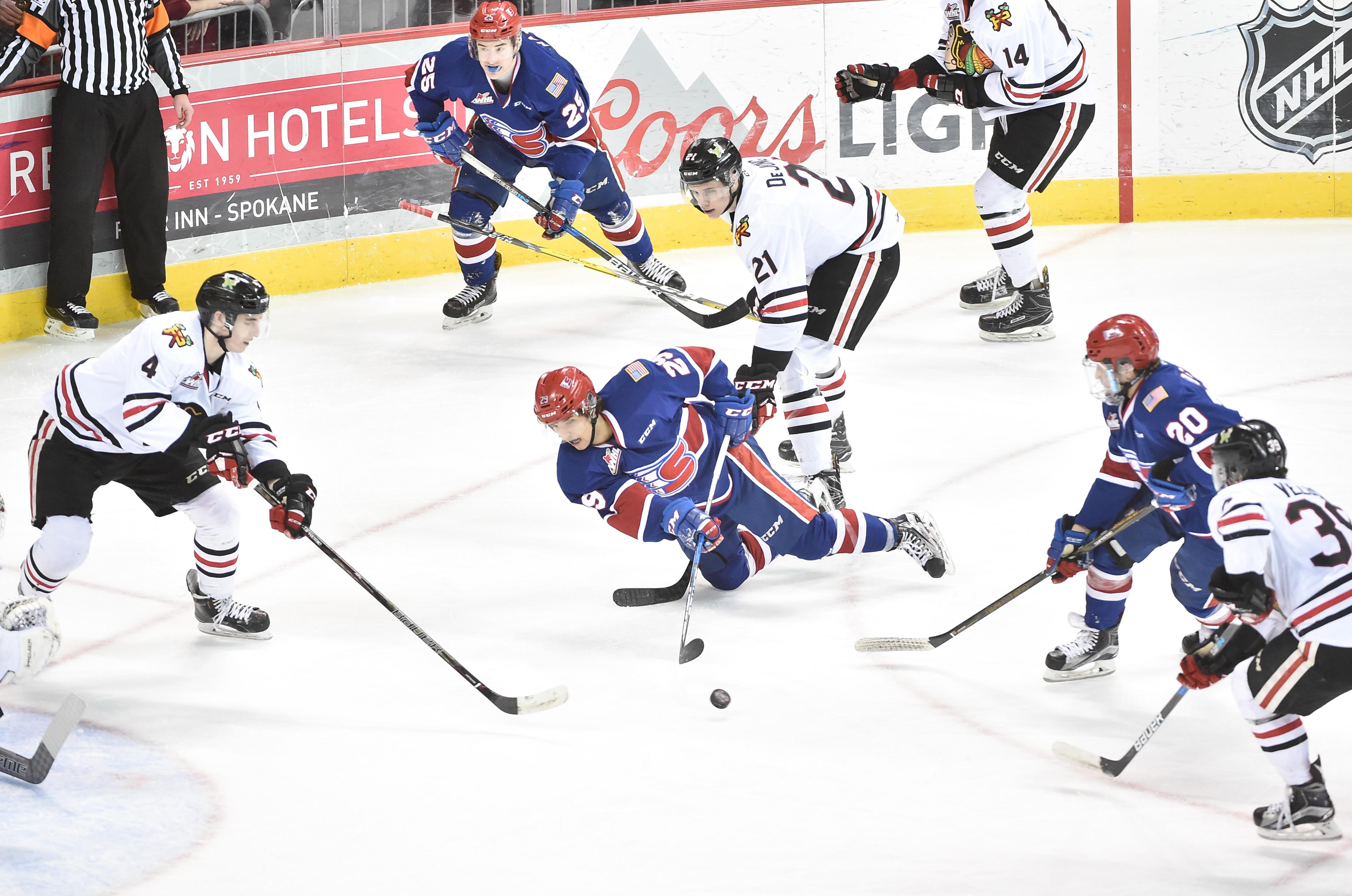 spokane chiefs announce full 2017-18 western hockey league schedule