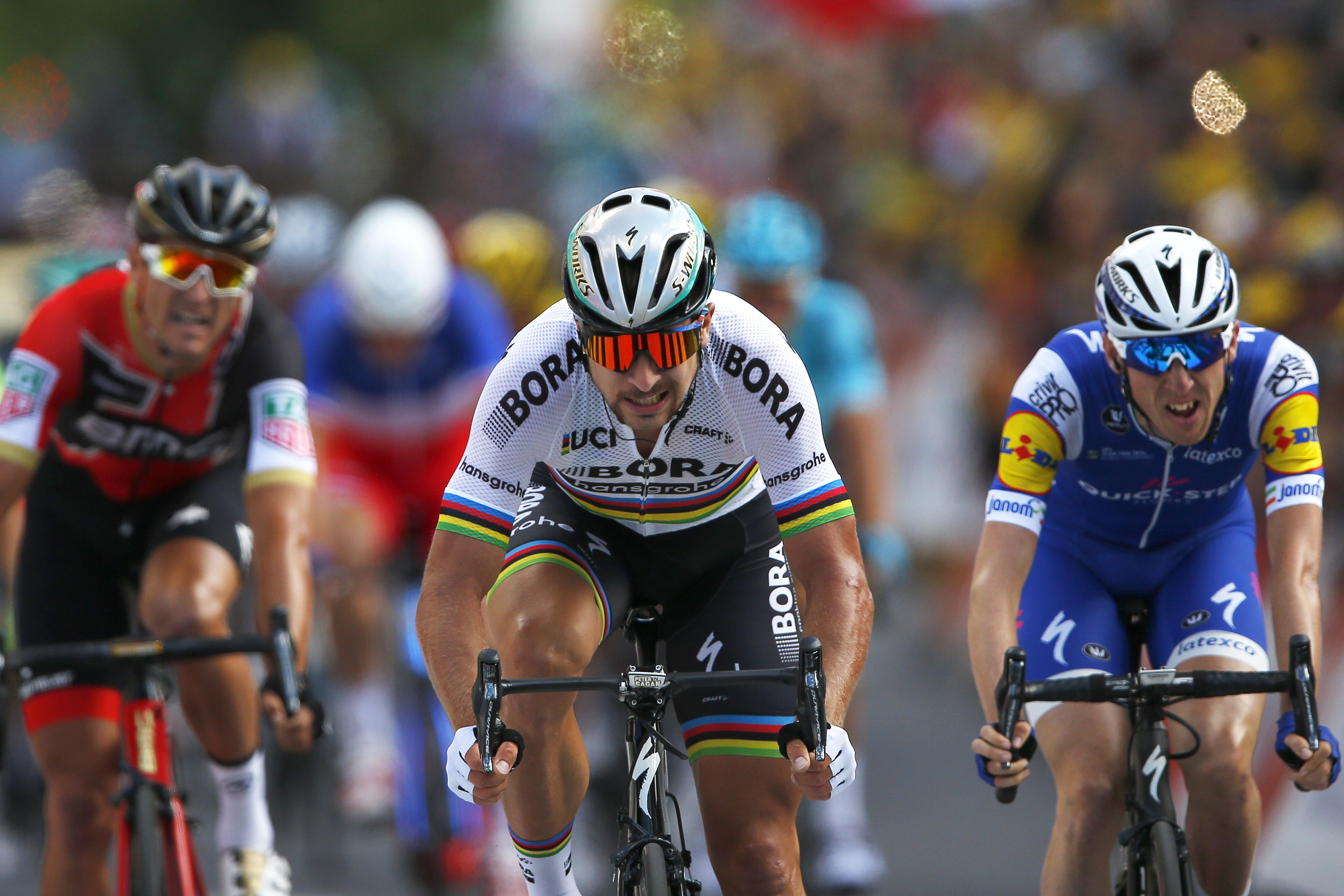 e30f6fd29 Peter Sagan takes third stage at Tour de France