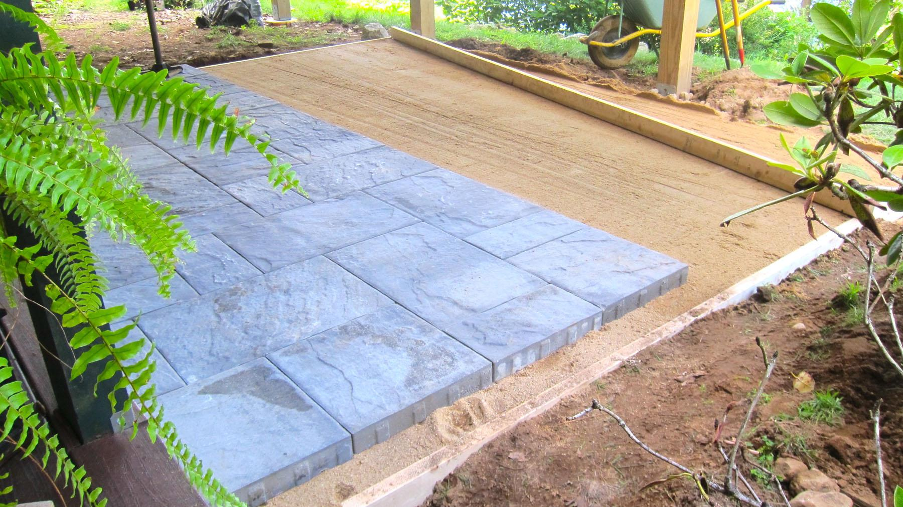 Ask The Builder: Paving A Patio Is Job Most Do-it