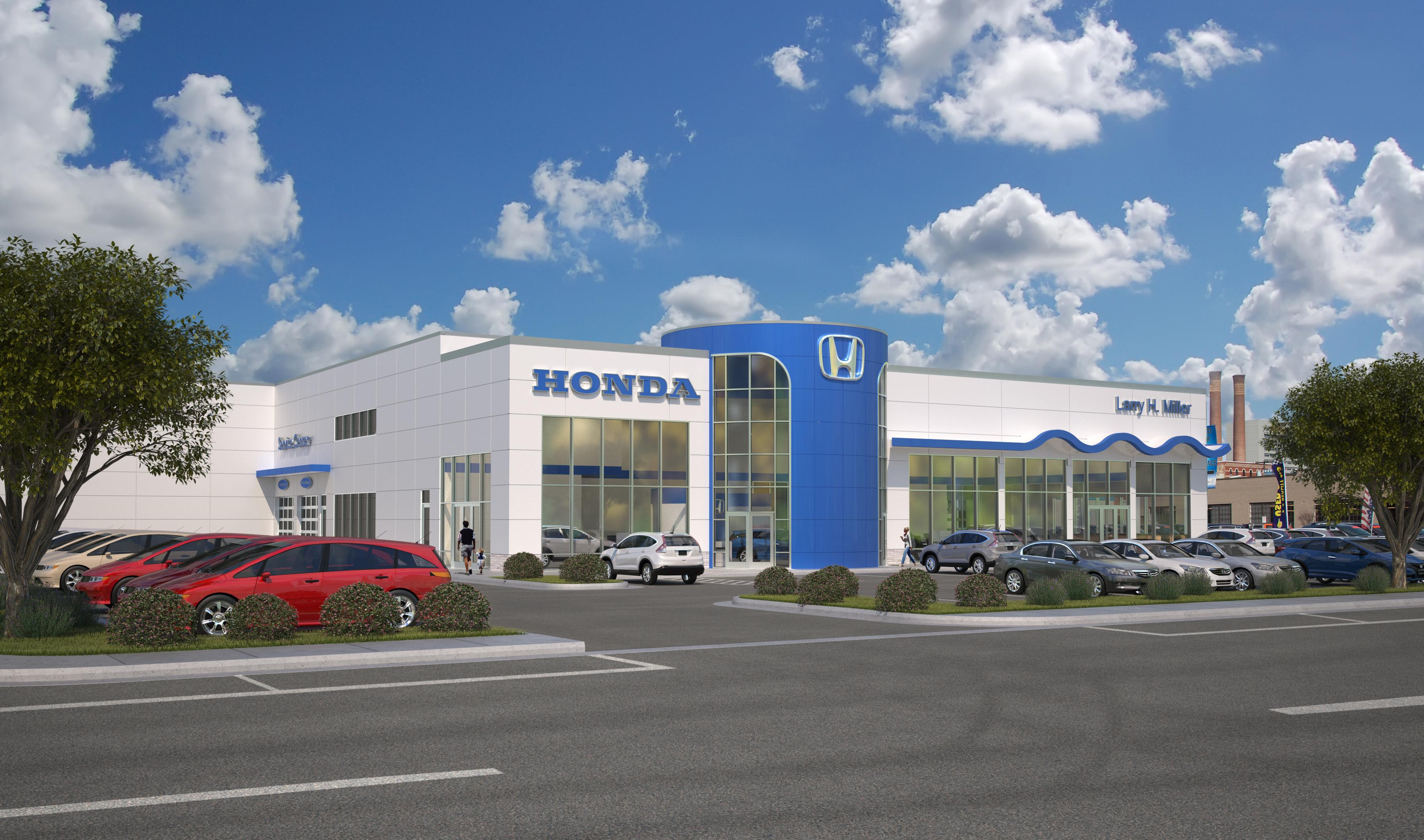 Larry Miller Honda >> Downtown Spokane Auto Dealer Begins Construction On Honda