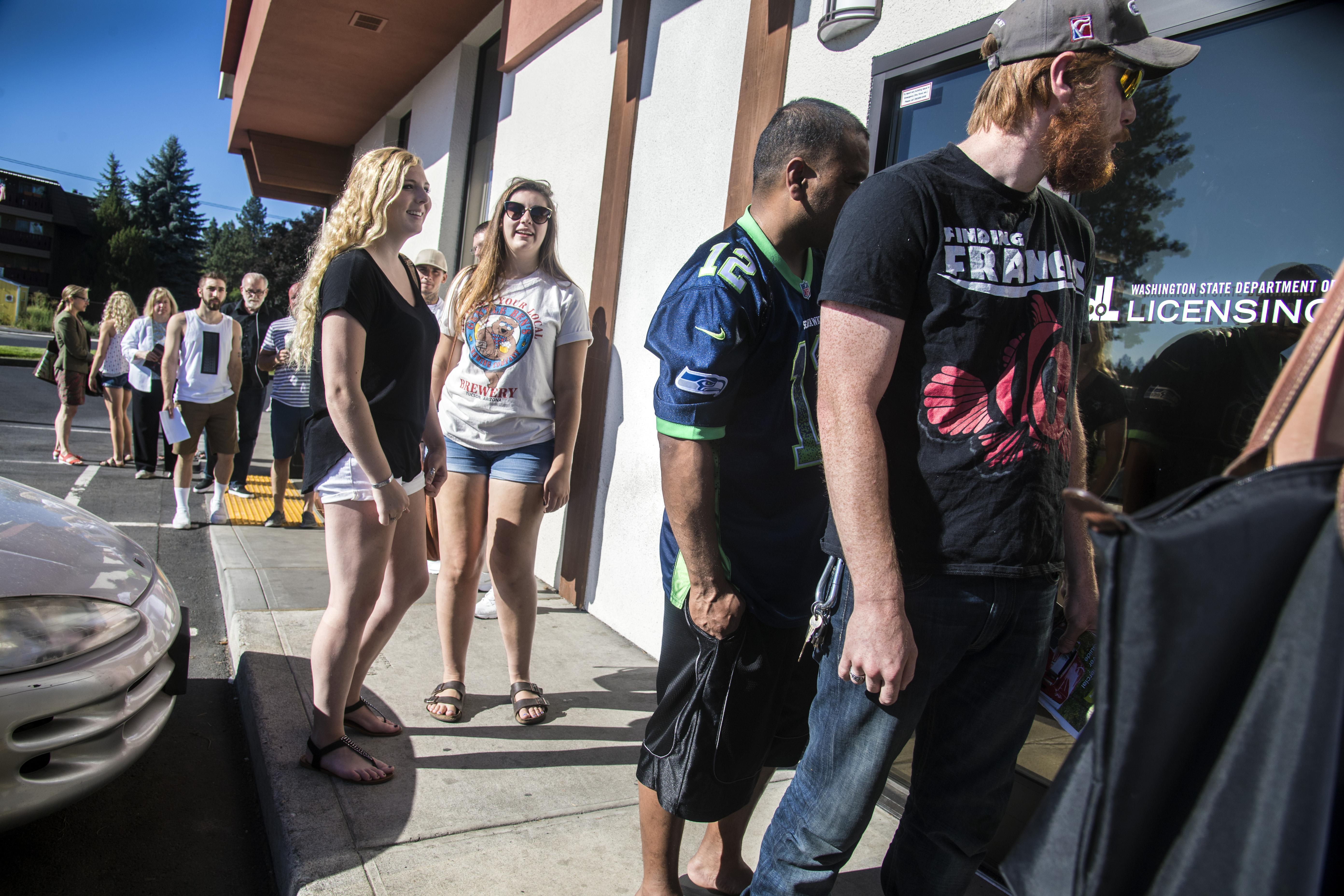 Spokane residents face longer waiting times at driver licensing spokane residents face longer waiting times at driver licensing office the spokesman review xflitez Choice Image
