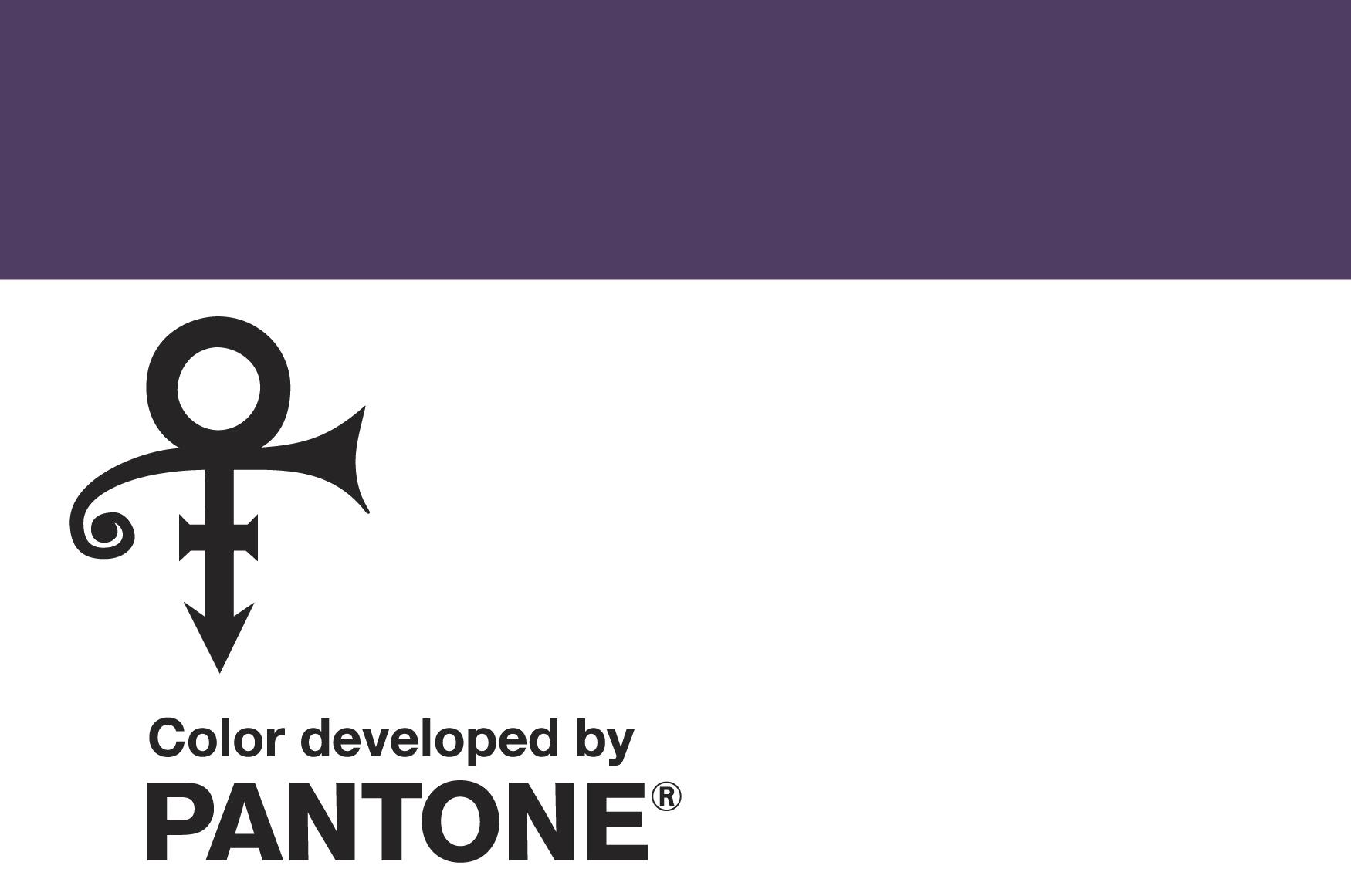 Pantone Creates Shade Of Purple Named For Prince Symbol The