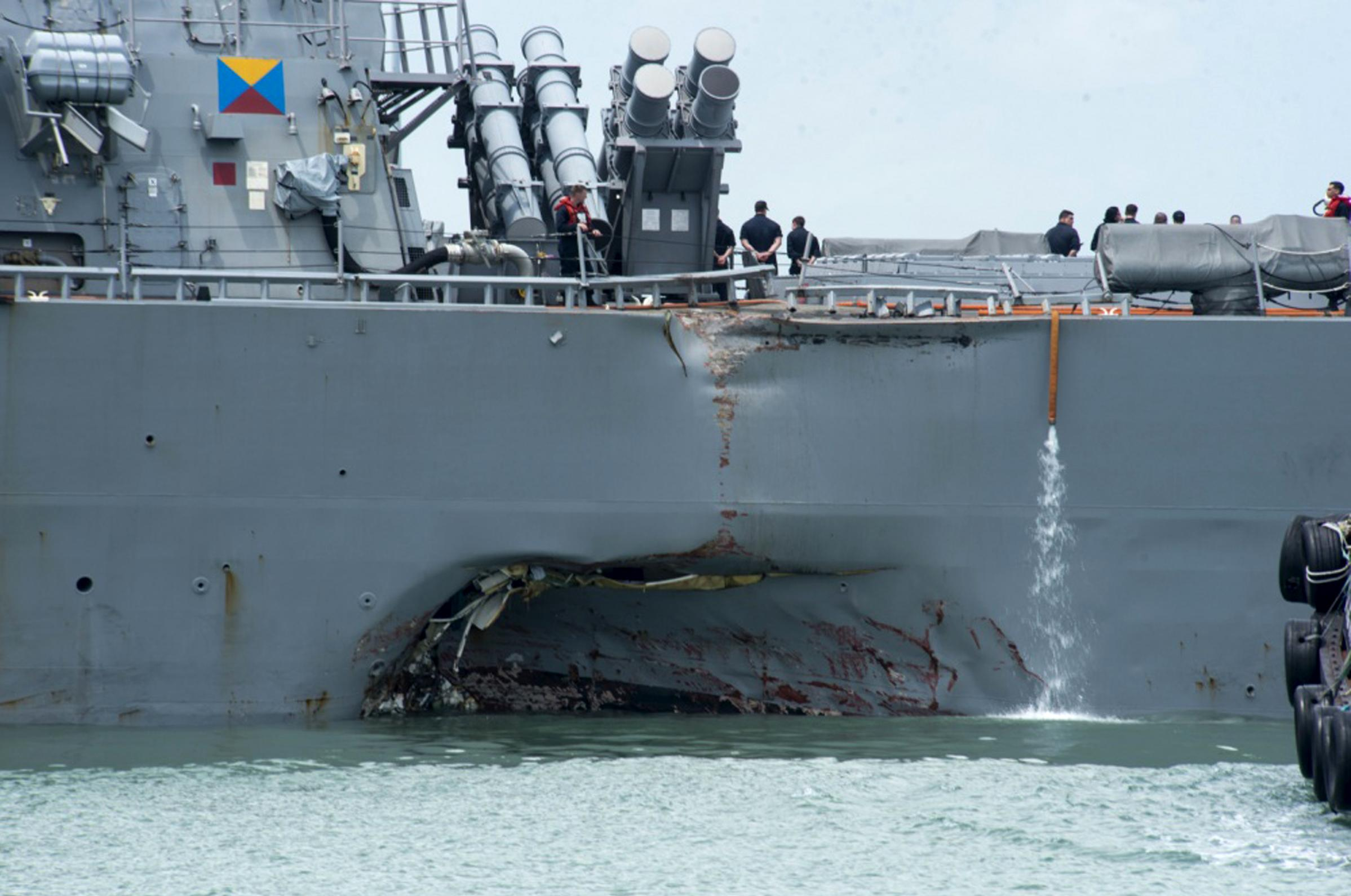 Navy chief orders probe into Pacific fleet after collisions | The ...