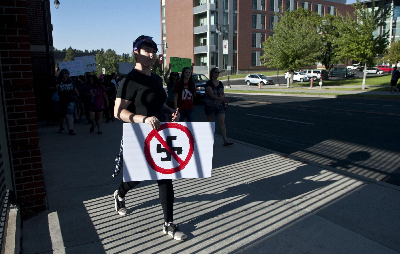 Swastikas, bomb threat etched into WSU dorm walls trigger