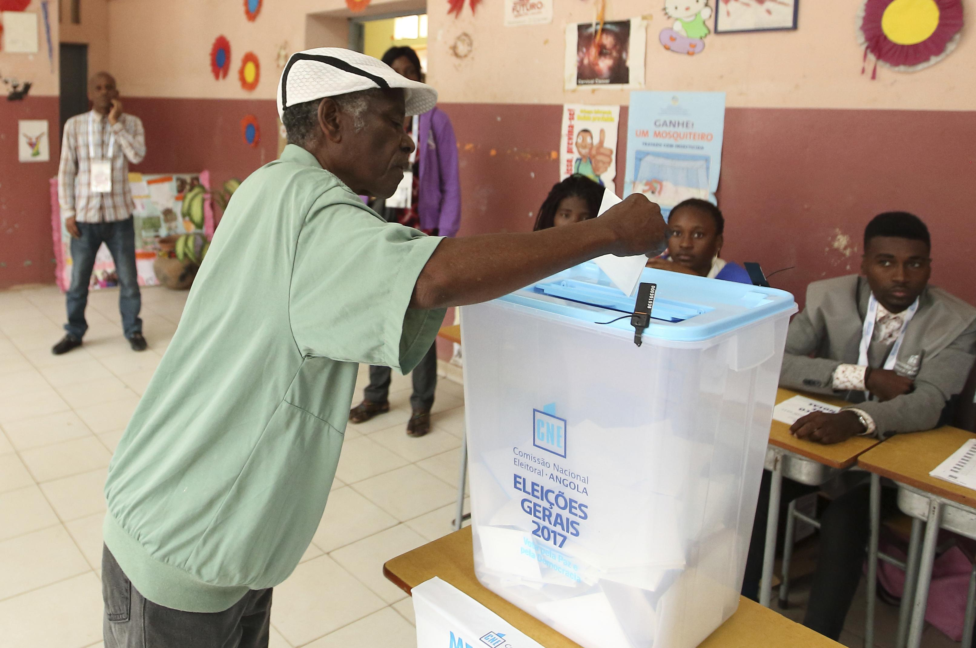 Angola votes for 1st new president in nearly 4 decades | The