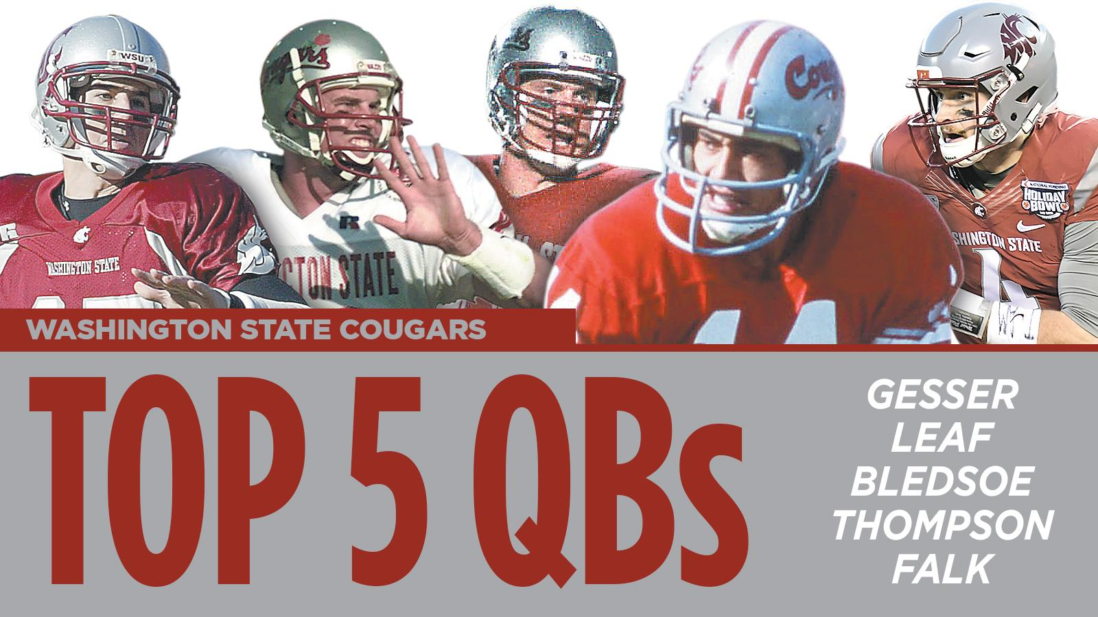 2017 football: Five best Washington State QBs of all-time