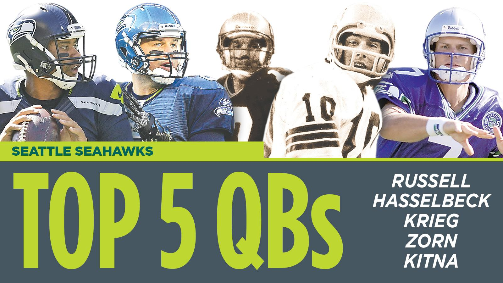 ae85d565b 2017 football: Five best Seahawks QBs of all-time   The Spokesman-Review
