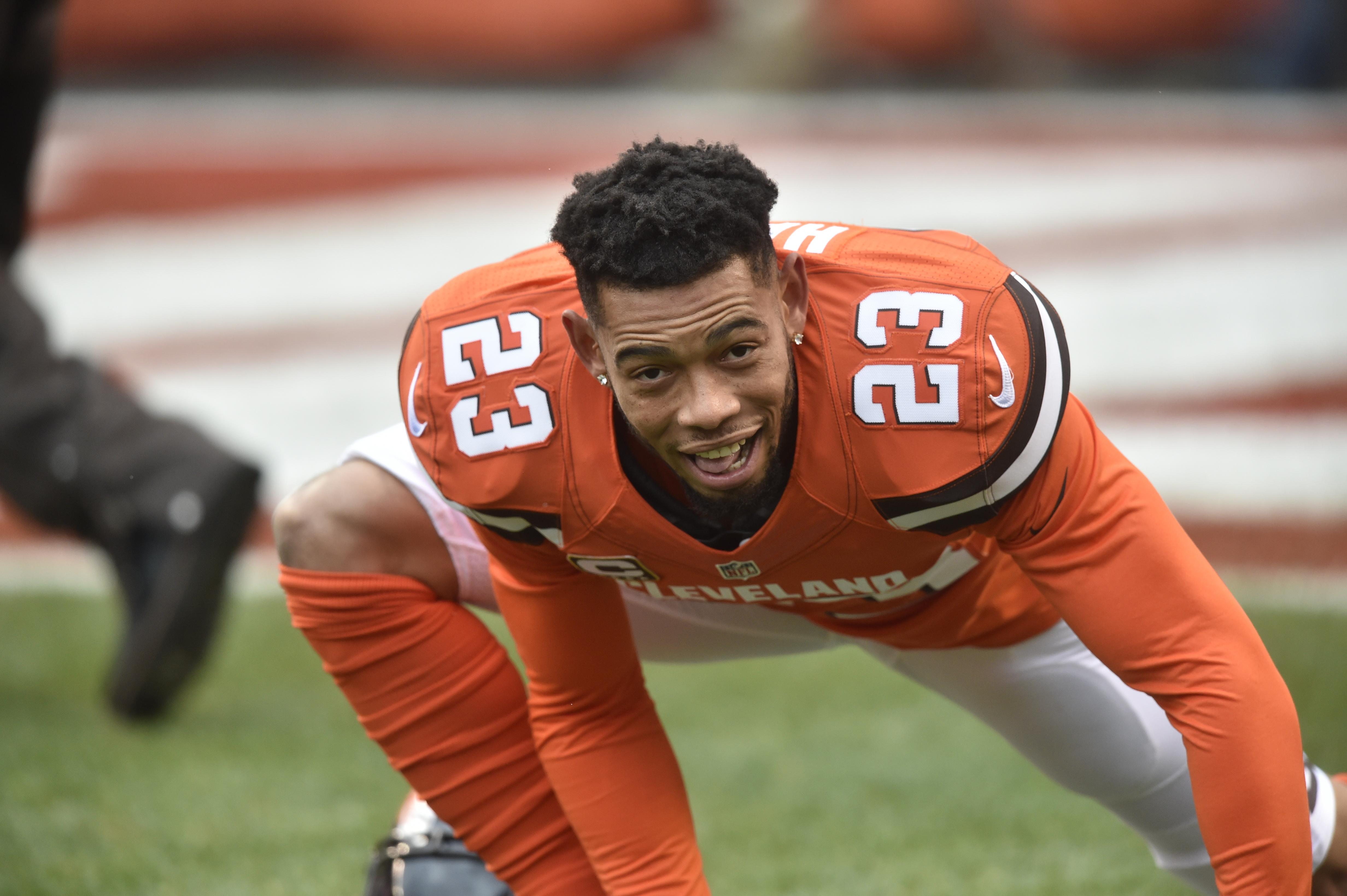 CB Joe Haden cut by Browns set to sign with Steelers
