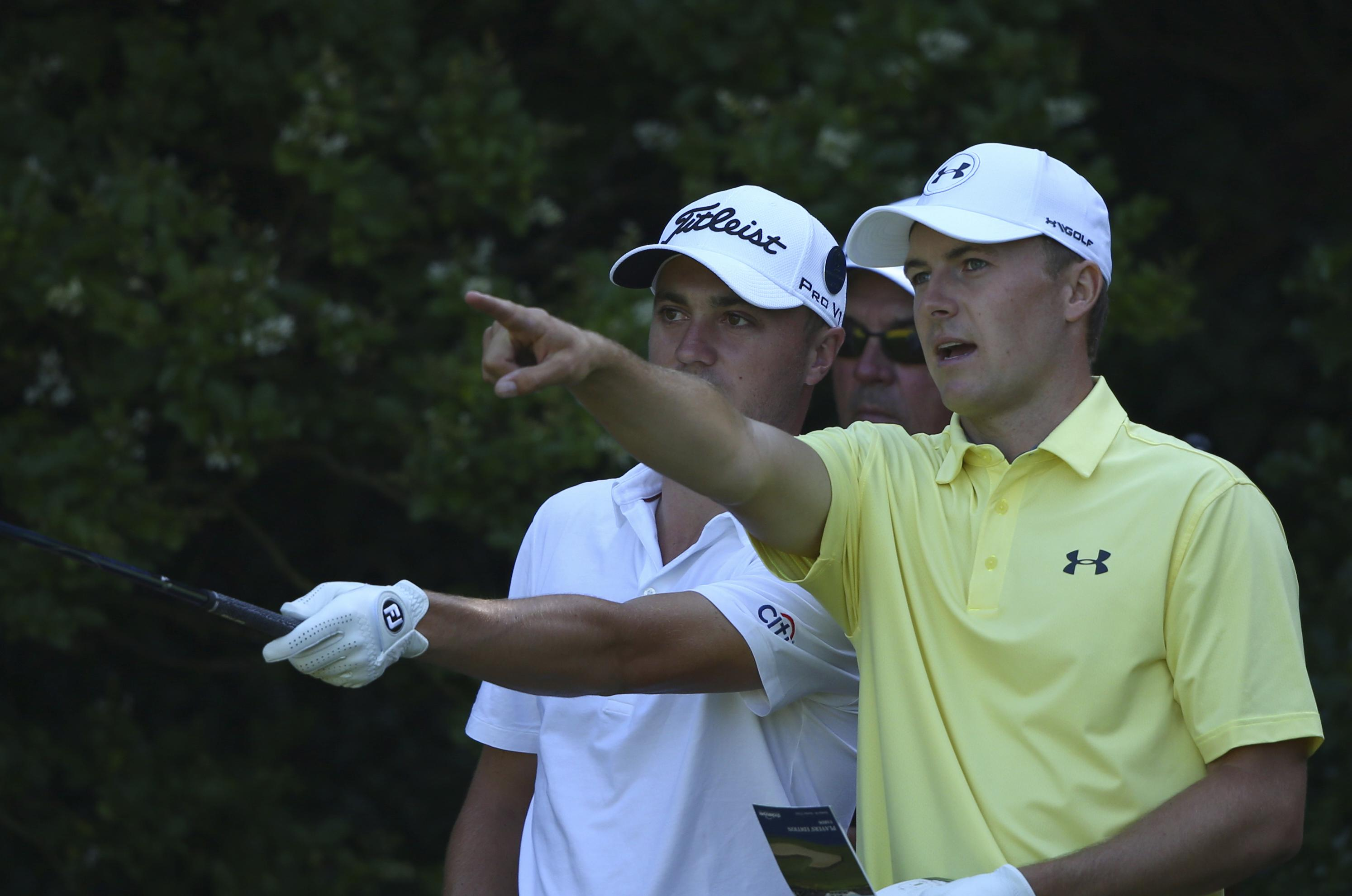Spieth Thomas Good Friends Not Yet Rivals Swx Right Now Sports