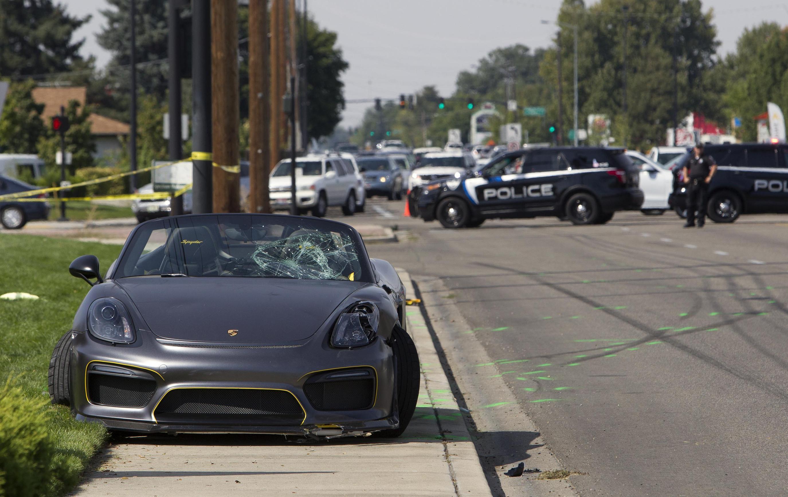Porsche plows into spectators at Idaho car show
