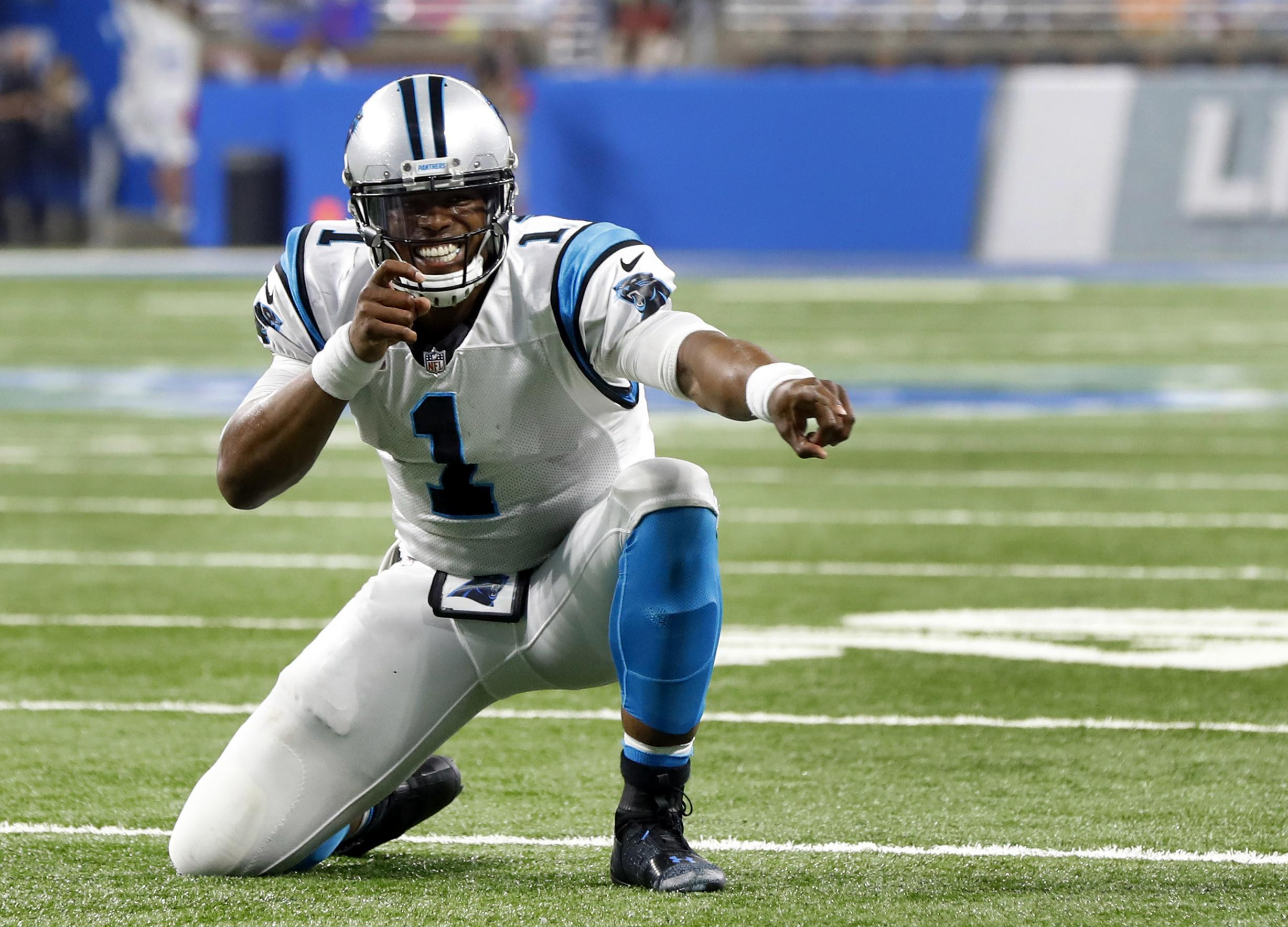 Cam Newton's accuracy improving as Panthers prepare for Eagles | The  free shipping