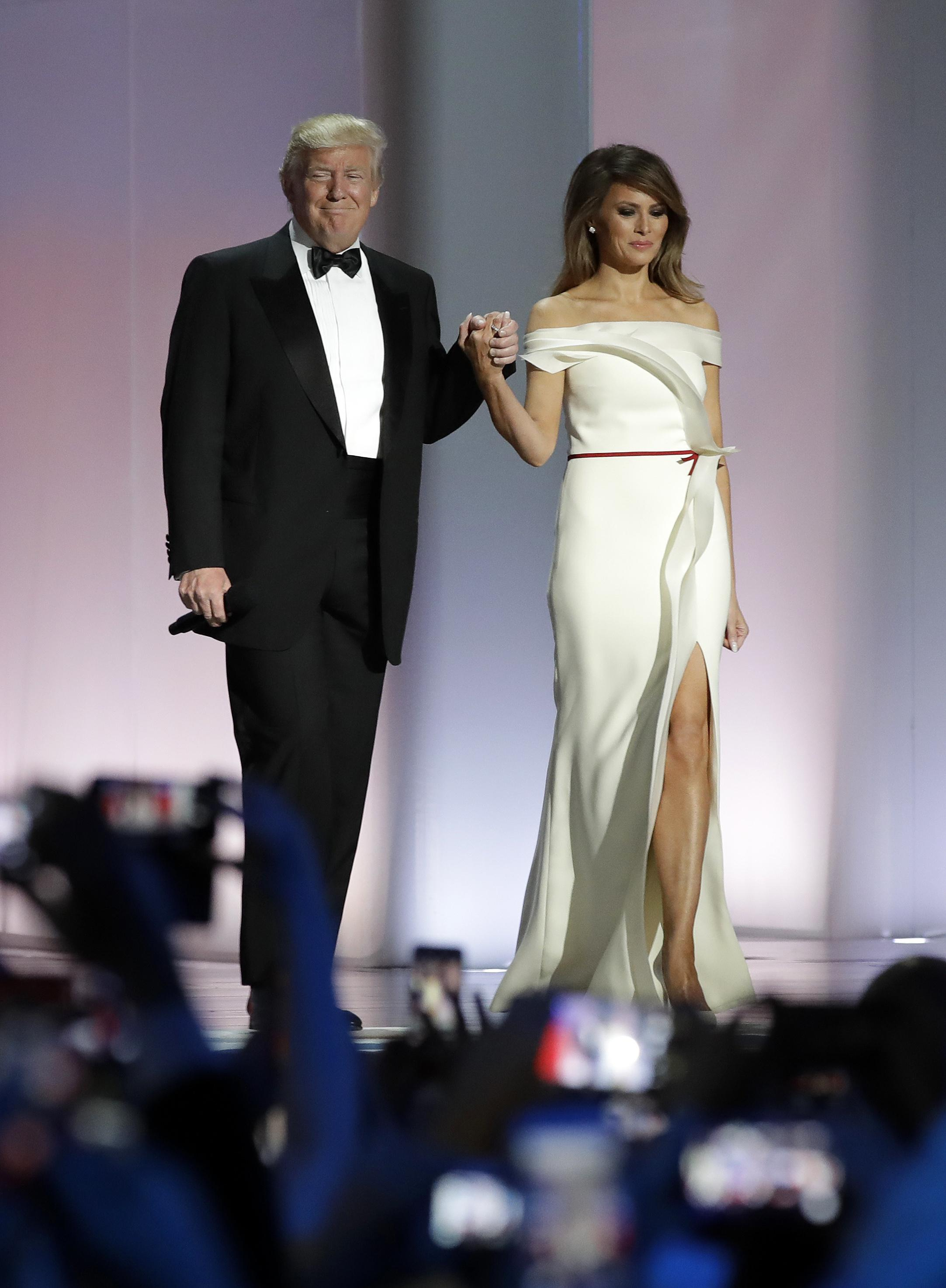 Melania Trump to donate inaugural ball gown to Smithsonian | The ...