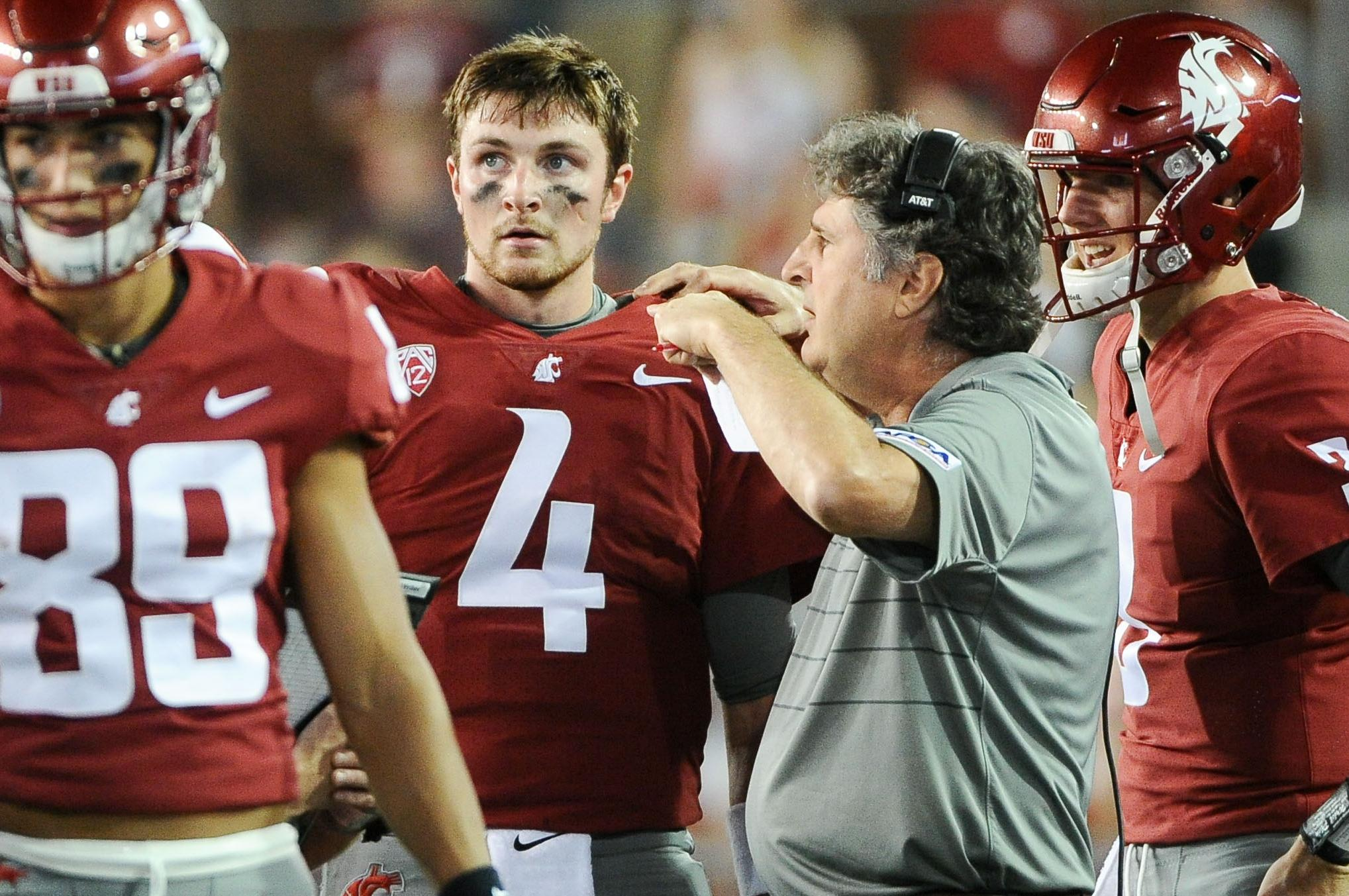 newest d1f7f 742a9 Luke Falk gets the starting nod from Mike Leach as ...