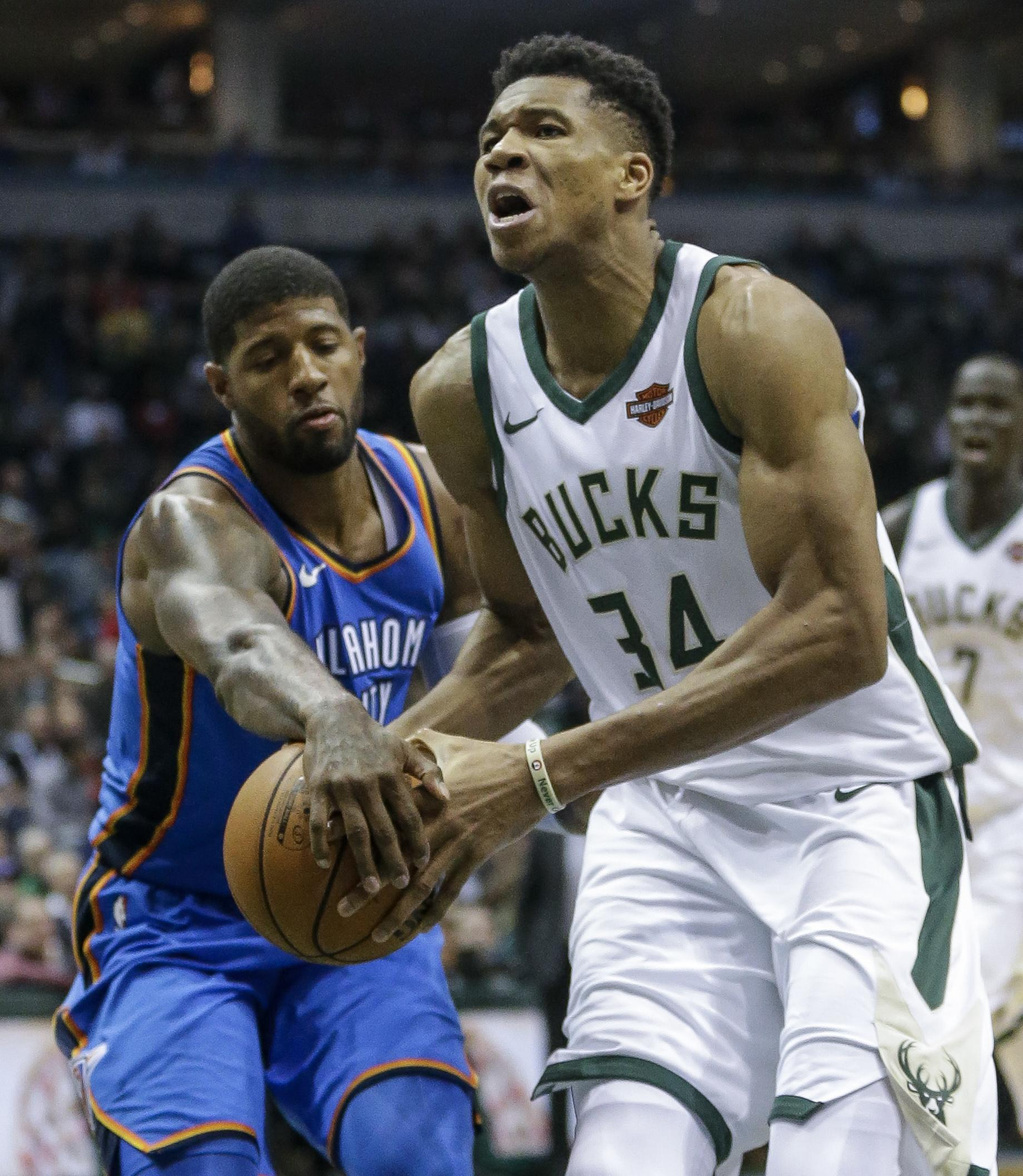 premium selection 7376d 06a30 NBA Capsules: Paul George, Thunder cruise to 110-91 win over ...