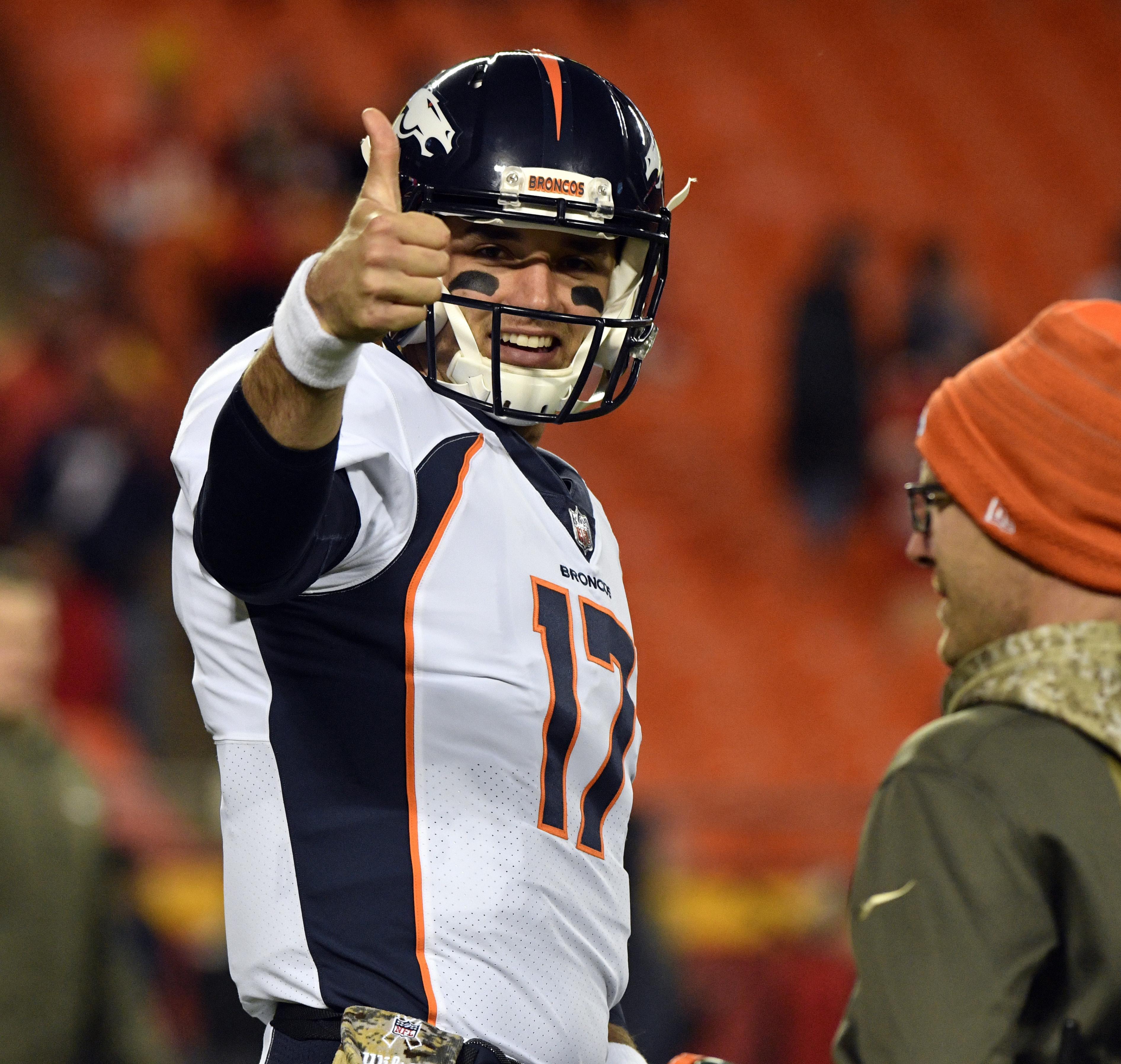 Denver Broncos Bench Trevor Siemian, Promote Brock